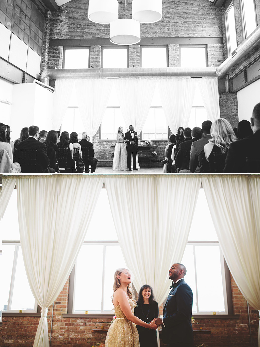 A city wedding in chicago