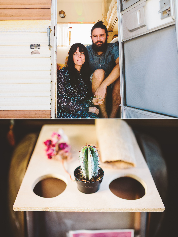 Vintage BoHo Camper Airbnb