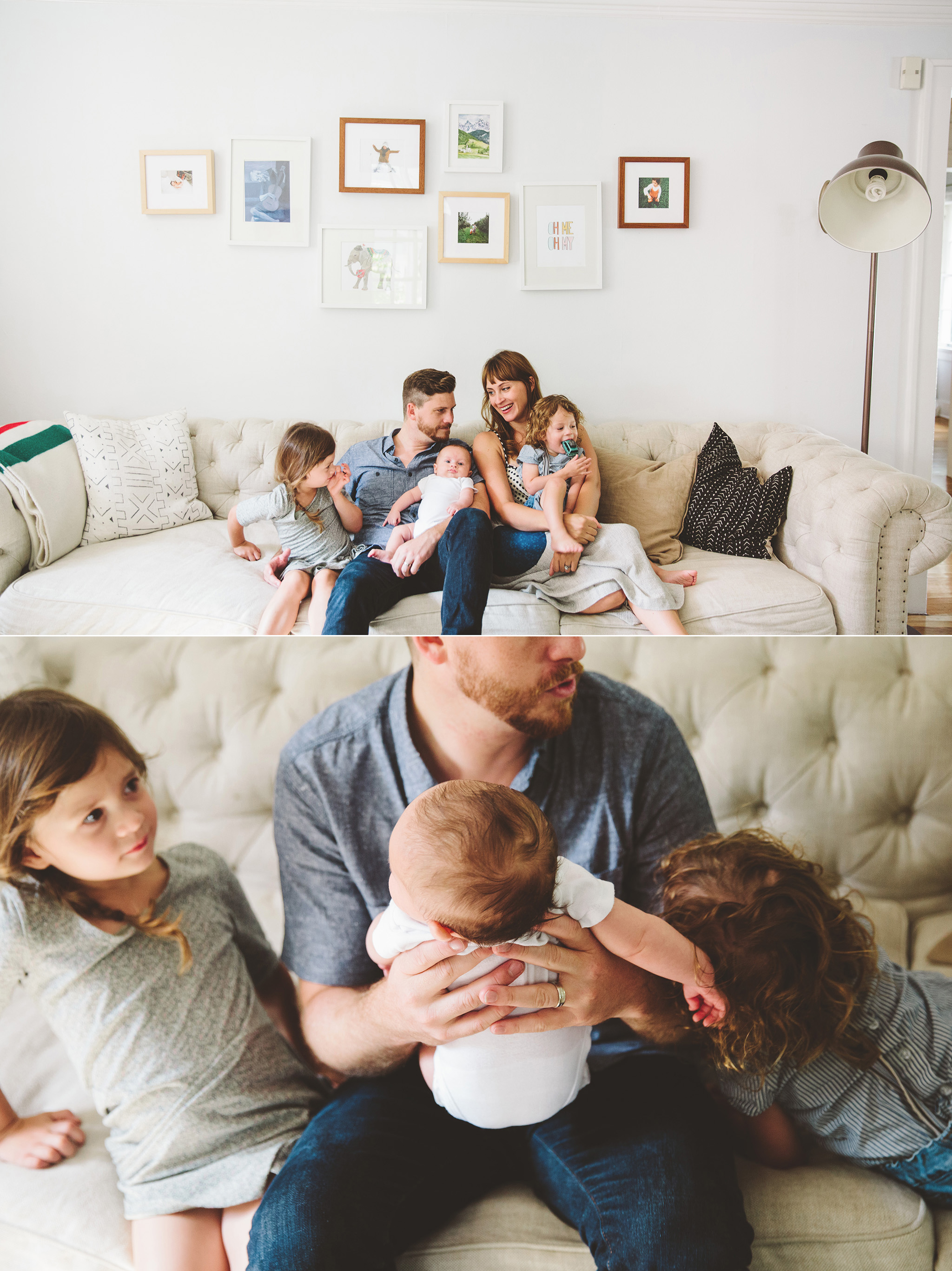The Watters Family photographs