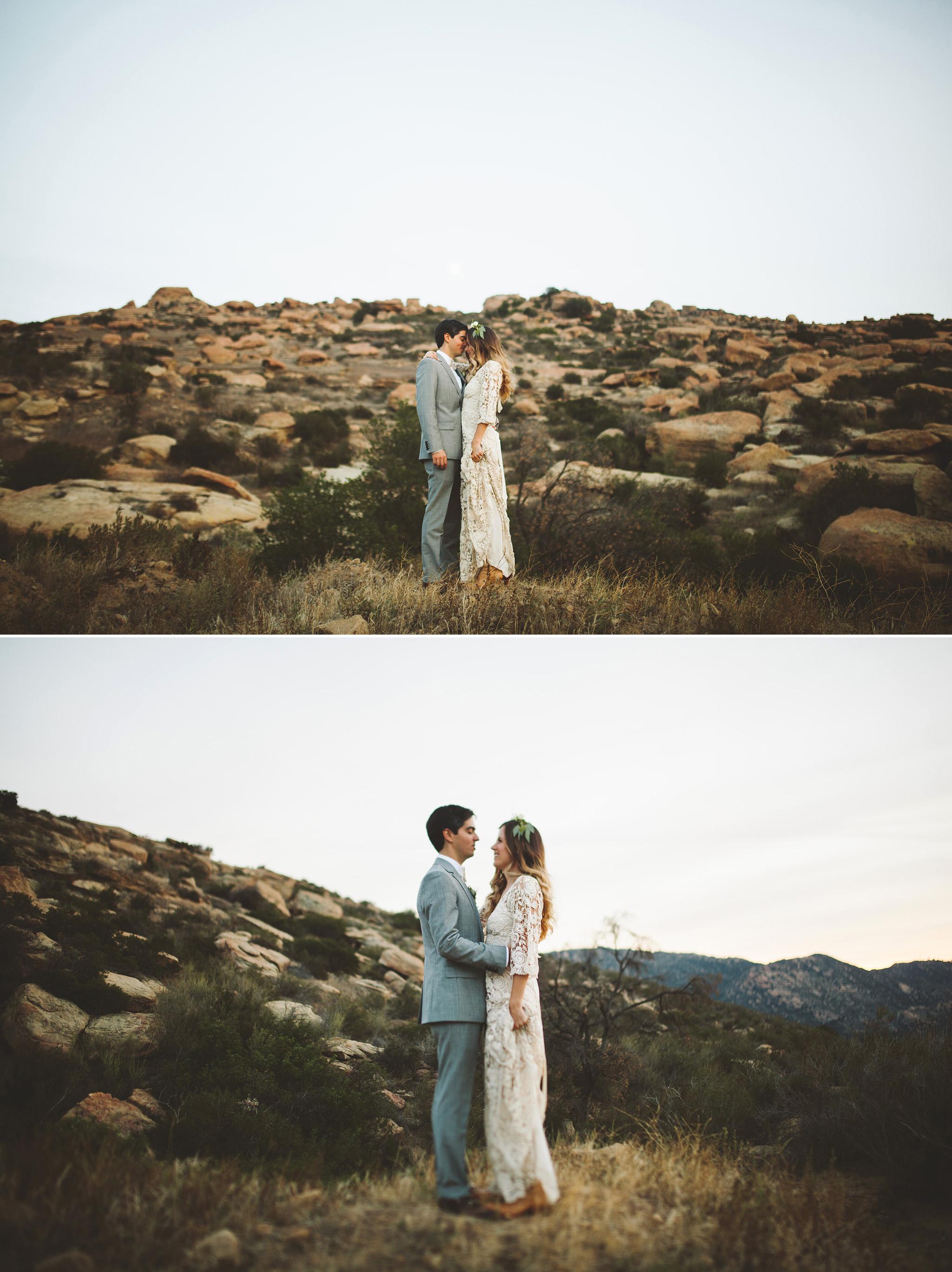 Los Angeles Wedding Hummingbird Nest Ranch