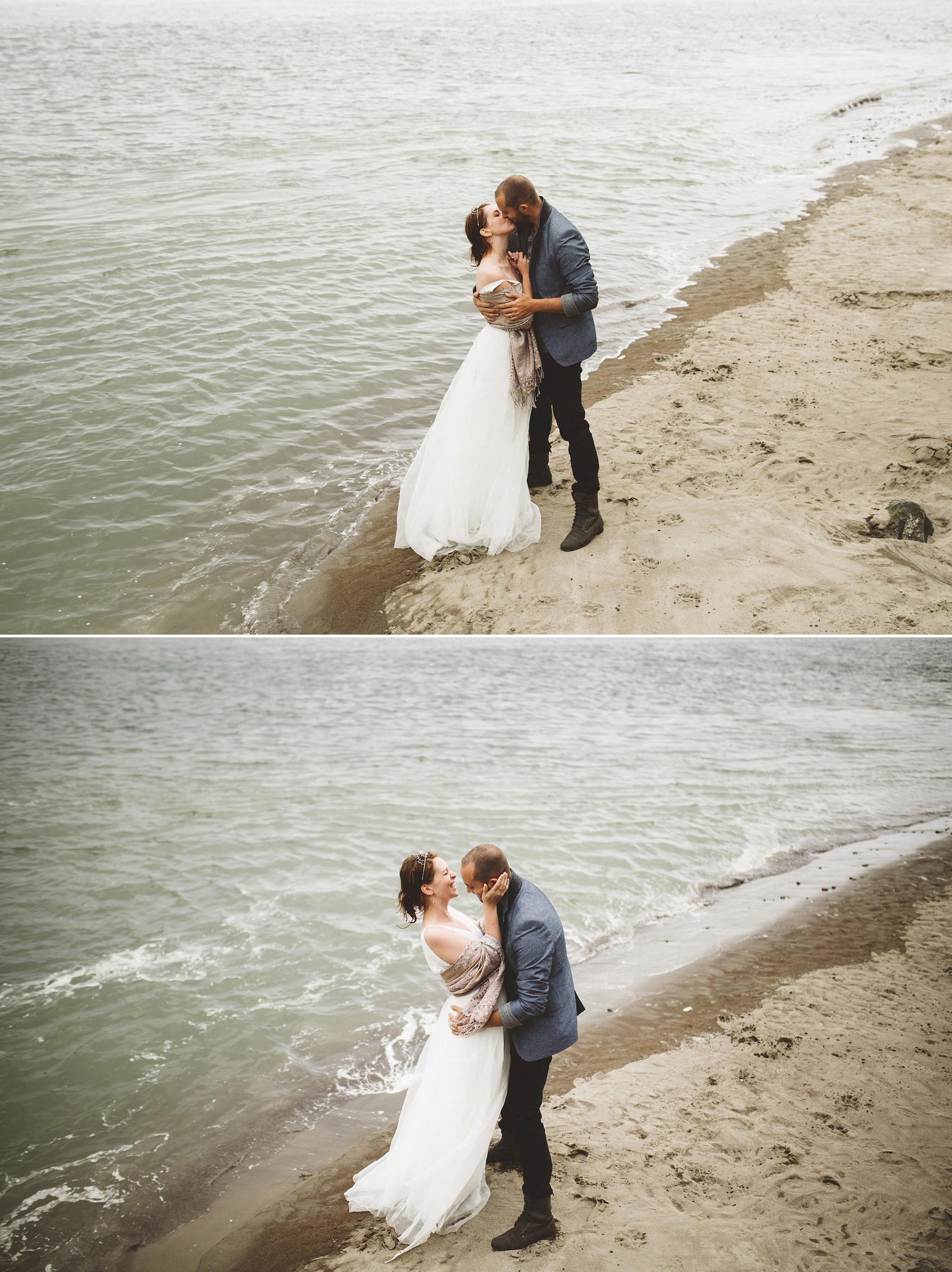 Northern California Beach Wedding