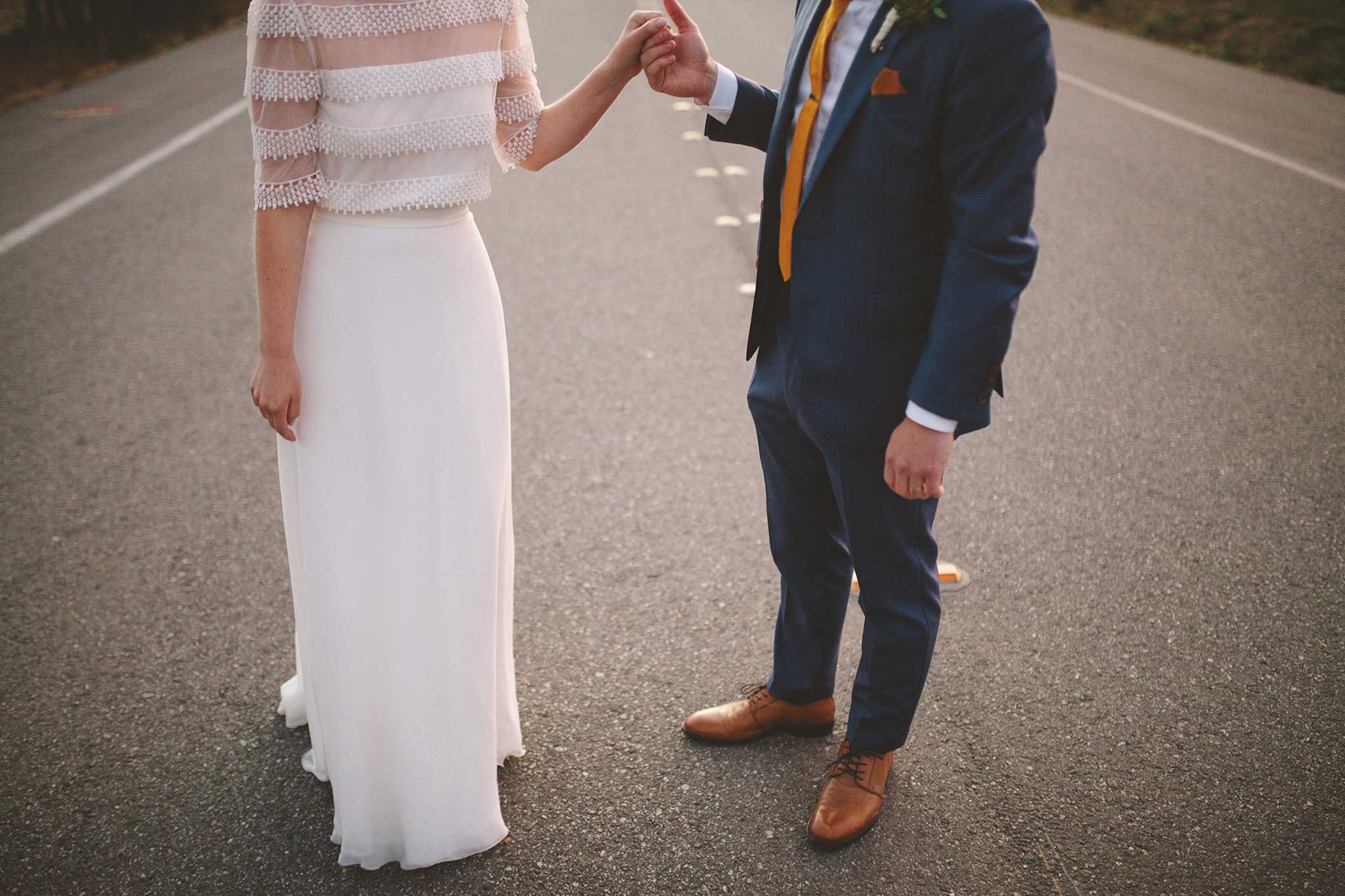 70's inspired wedding in northern california