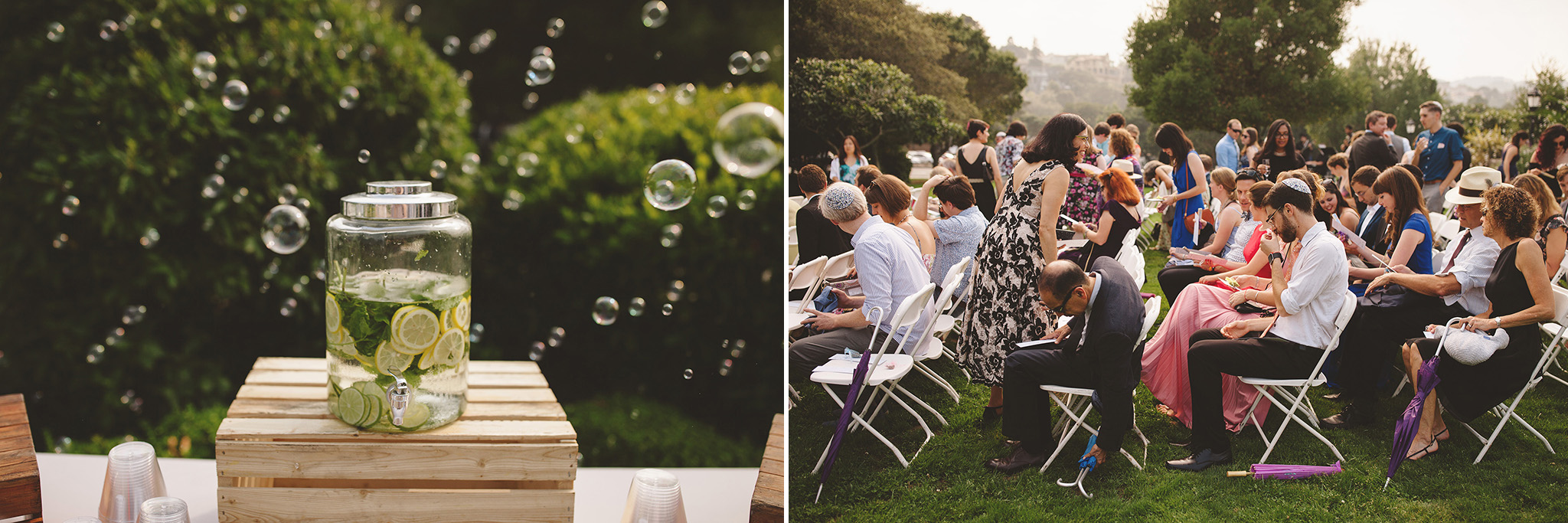 Kohl Mansion Wedding in San Francisco Outdoor wedding venue