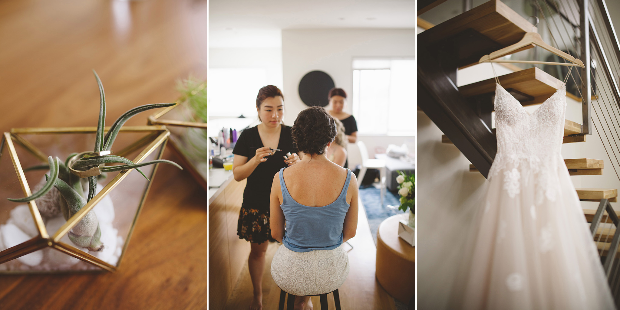 A modern wedding in San Francisco