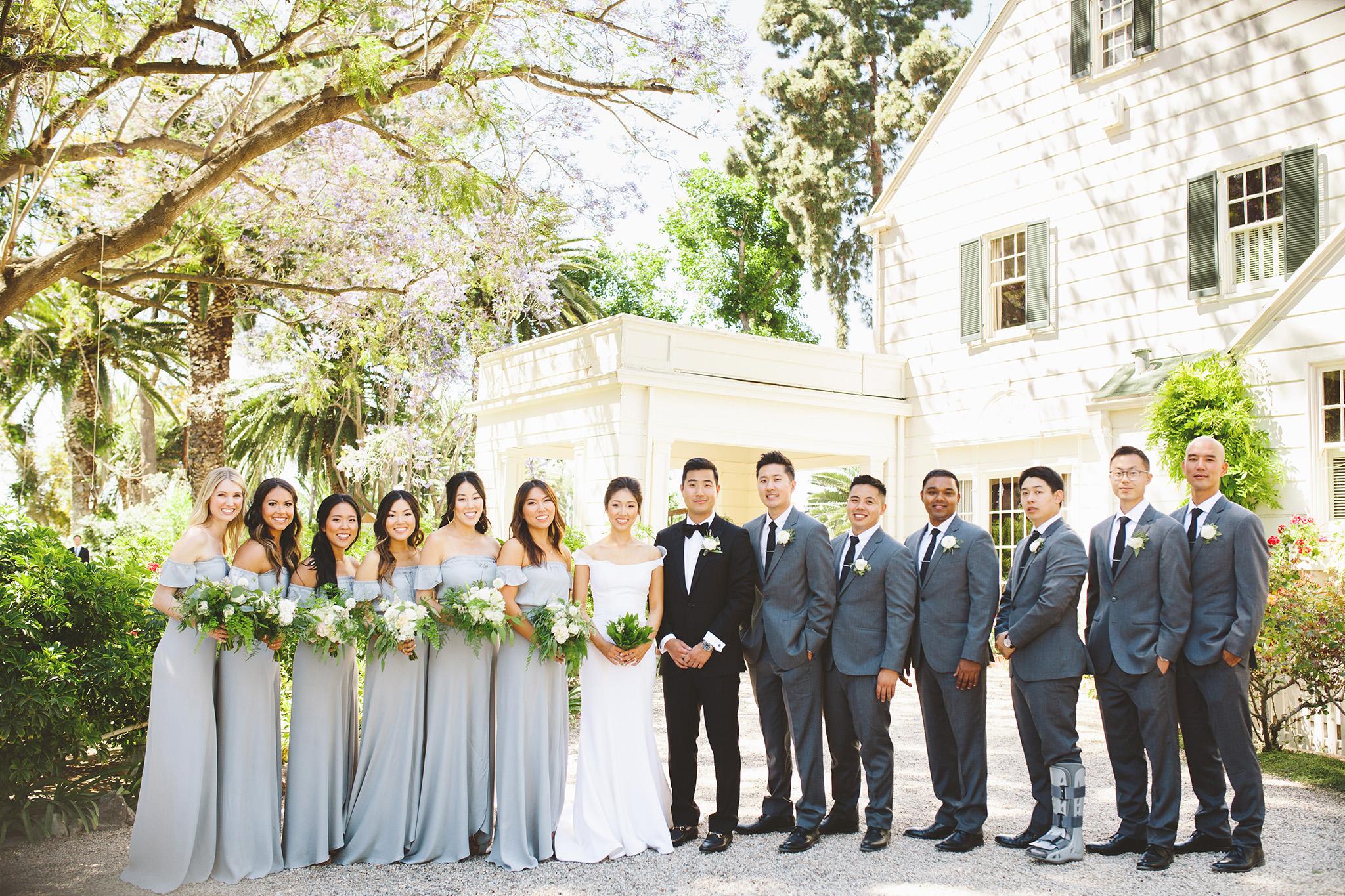 Los Angeles Outdoor wedding Venue. Garden wedding at McCormick Ranch