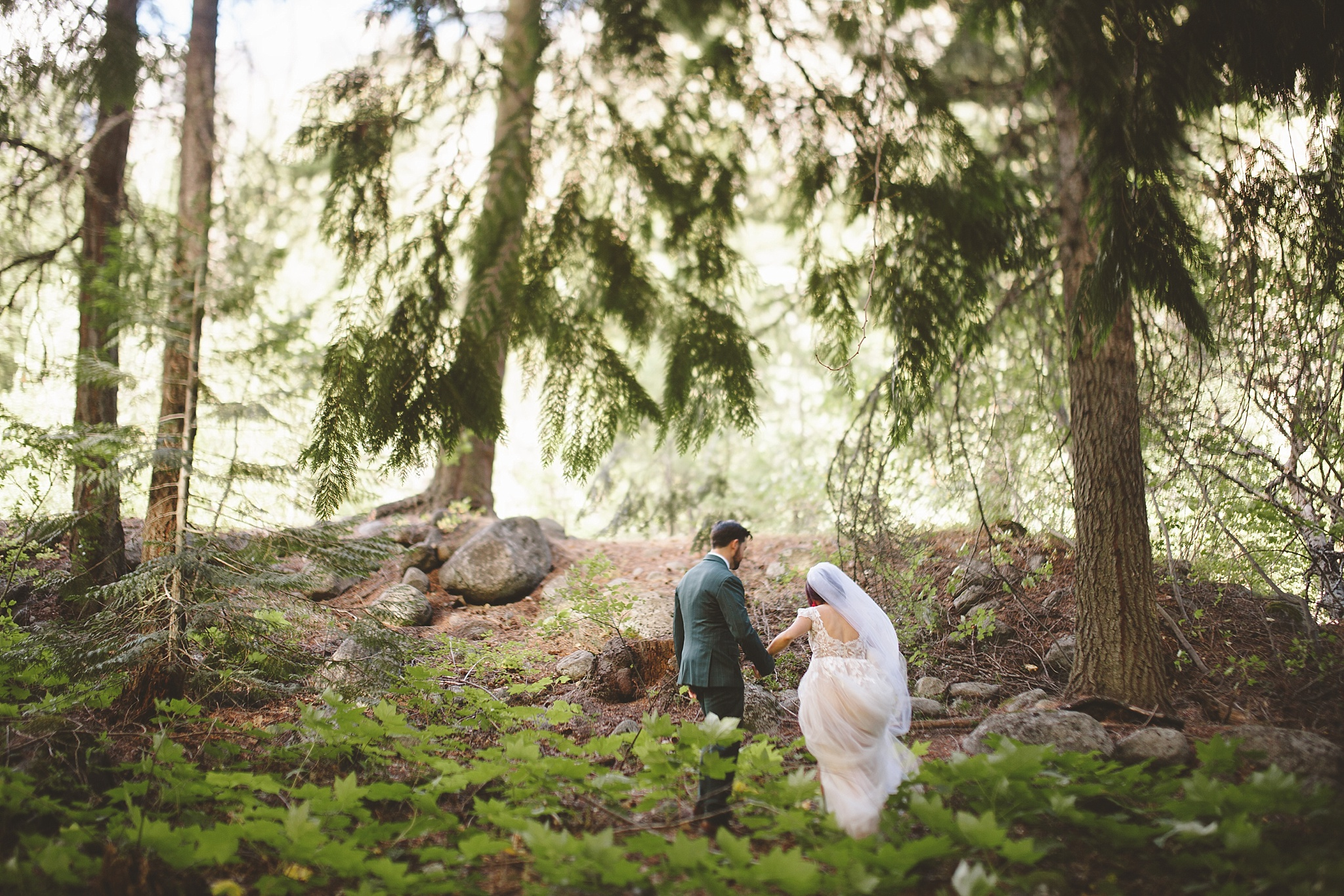 married in the pnw woods