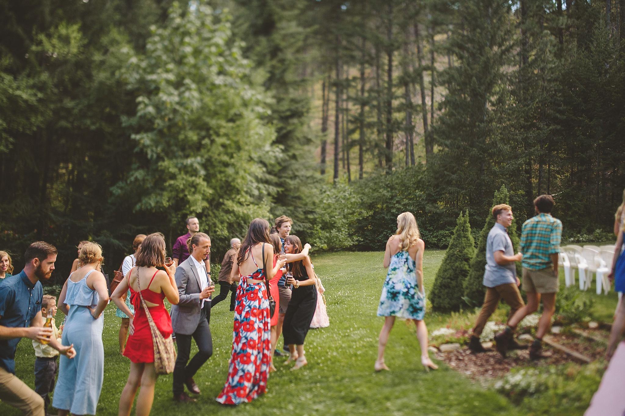 outdoor wedding venue in washington