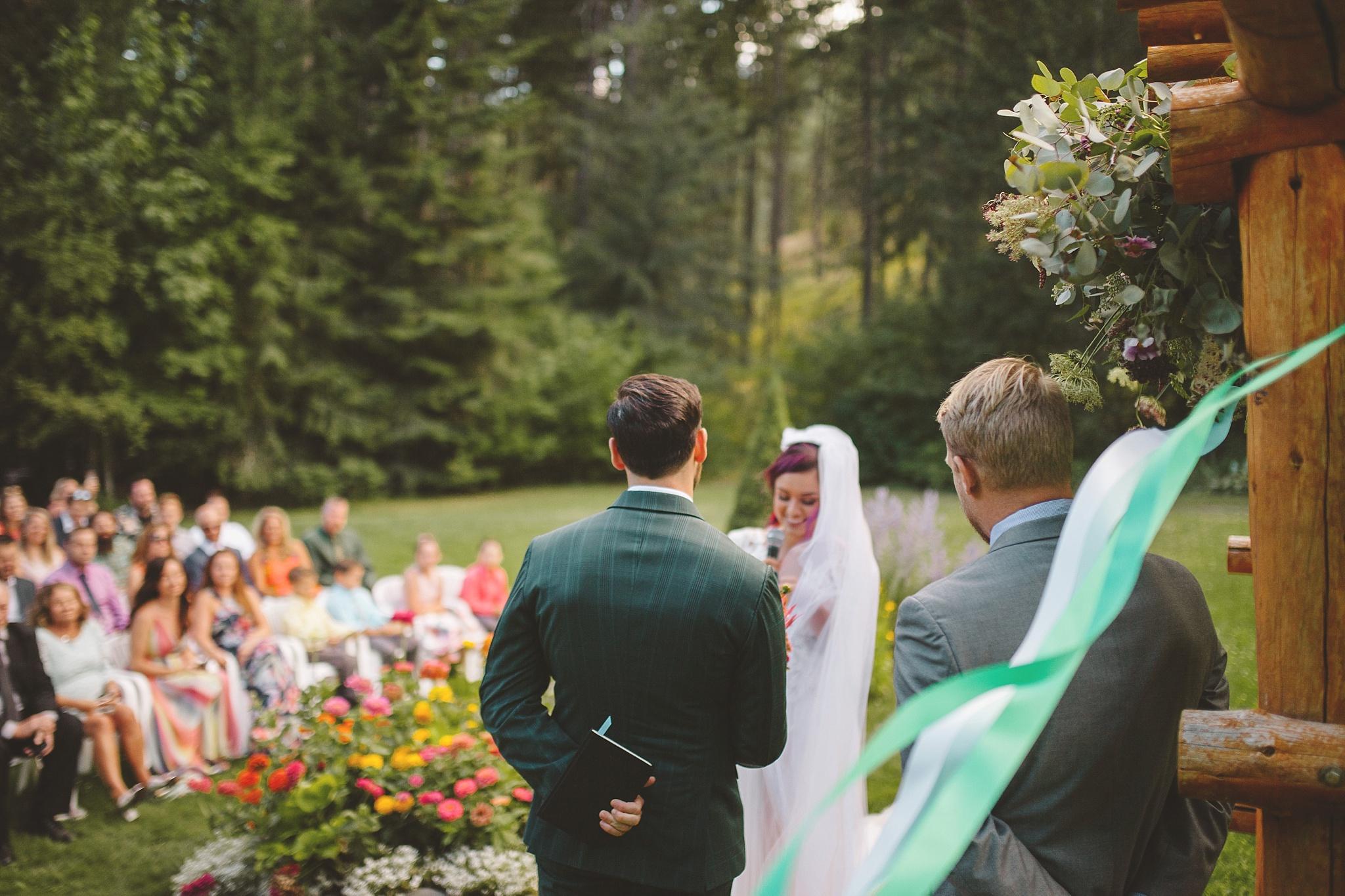 colorful seattle wedding