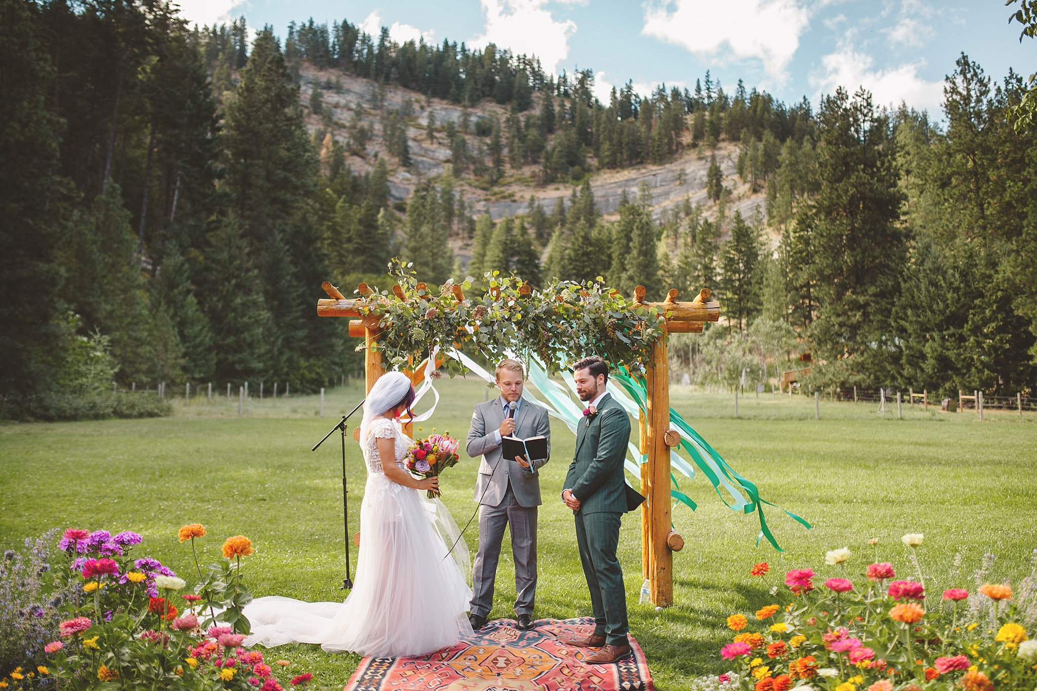 national park wedding ceremony