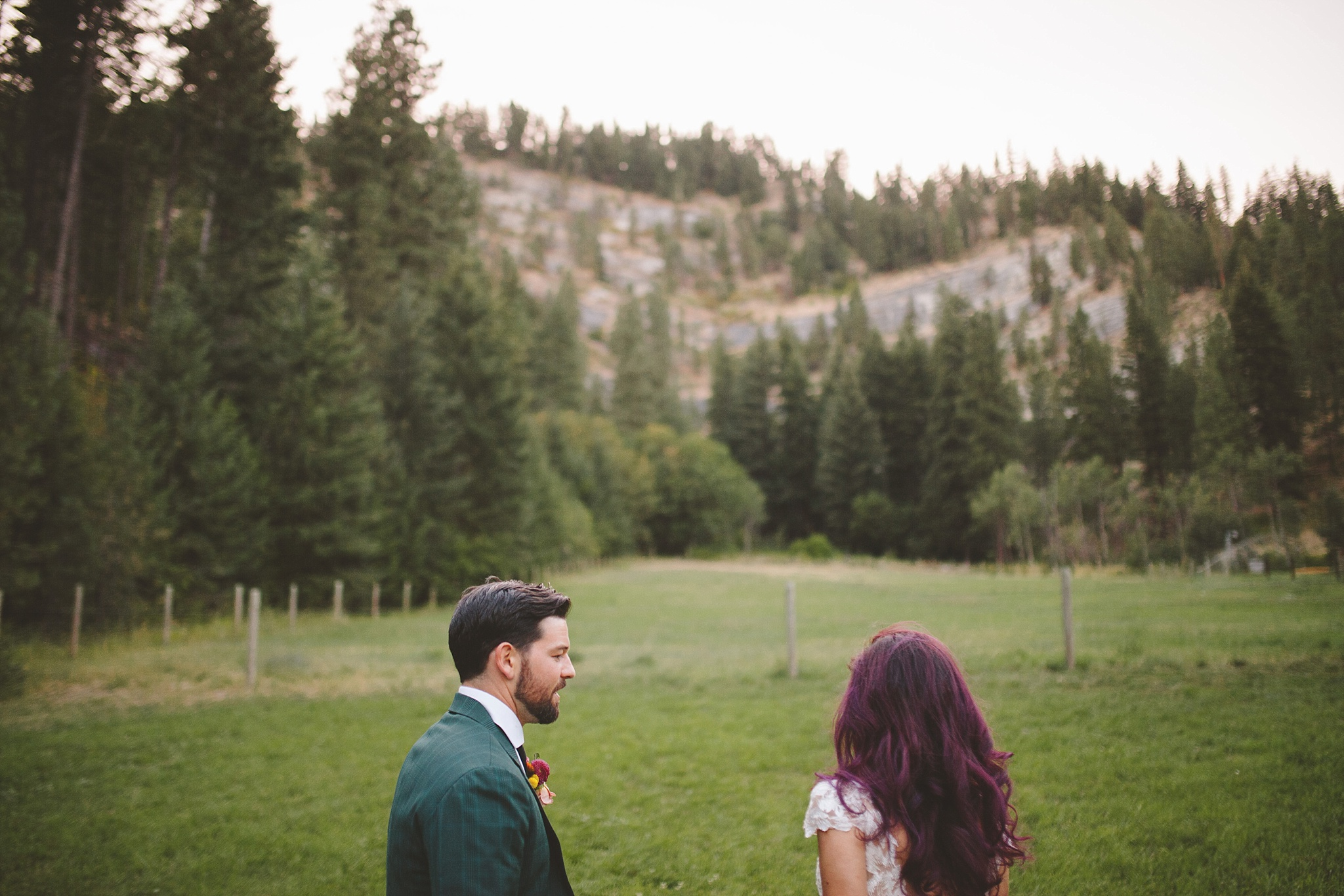 pnw outdoor wedding portraits