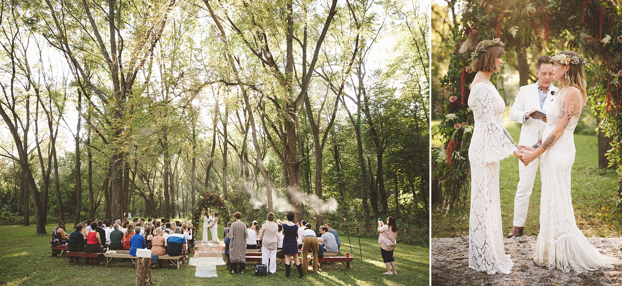 Summer Camp Wedding at White Eagle Camp