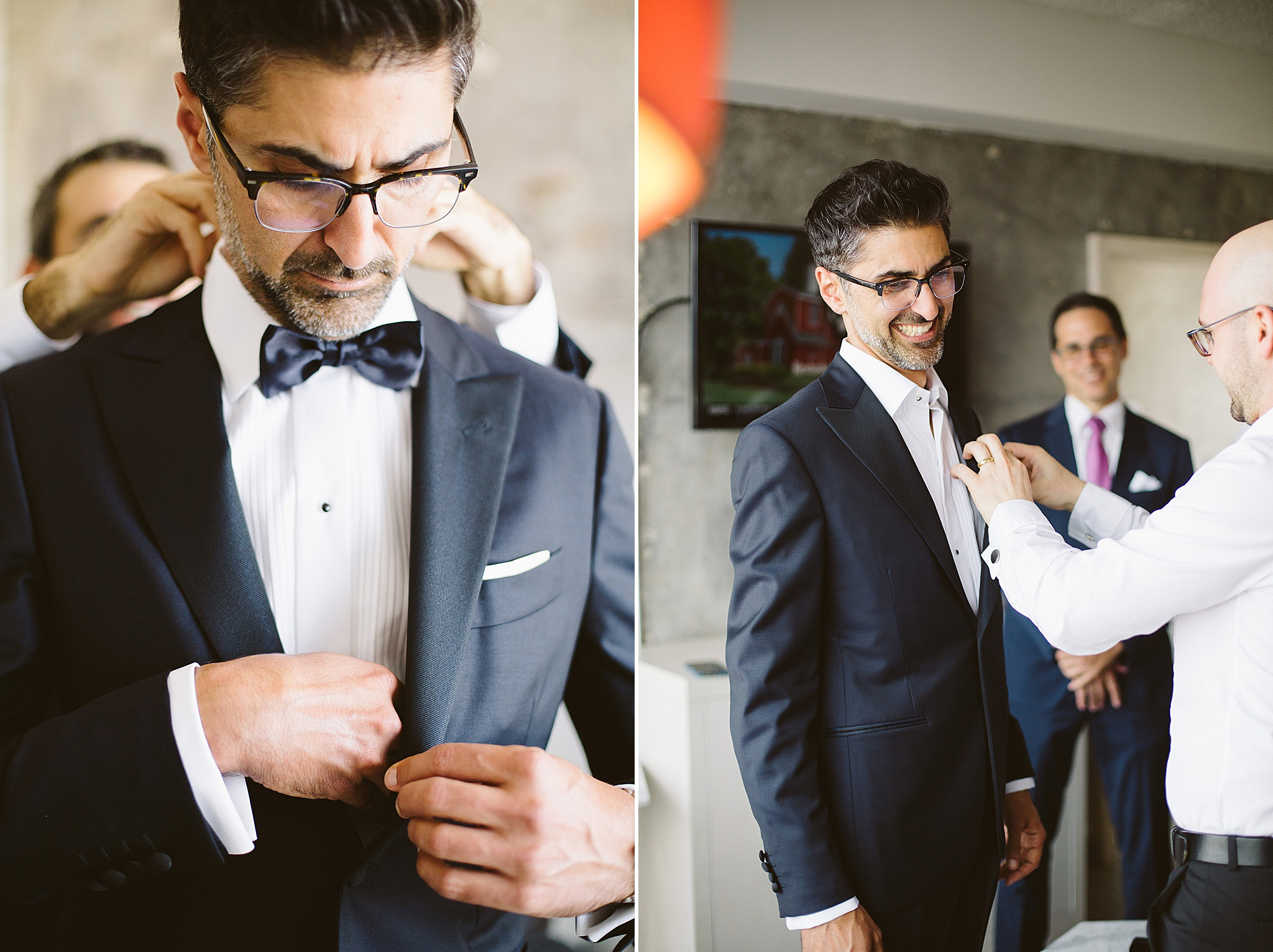 Los Angeles groom style at the Line Hotel