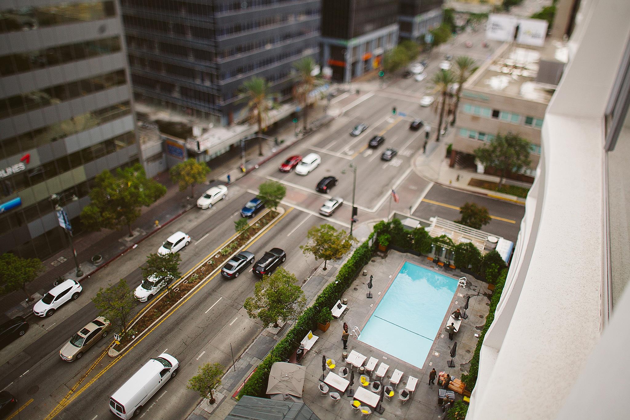Modern Los Angeles Wedding hotel