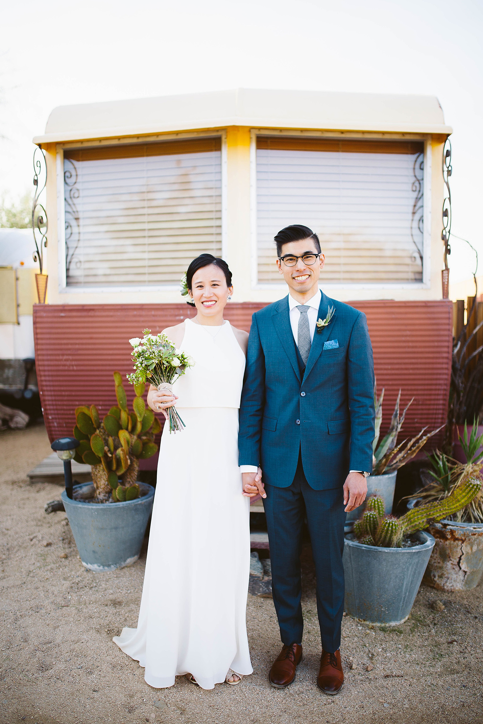 Joshua Tree Wedding pictures
