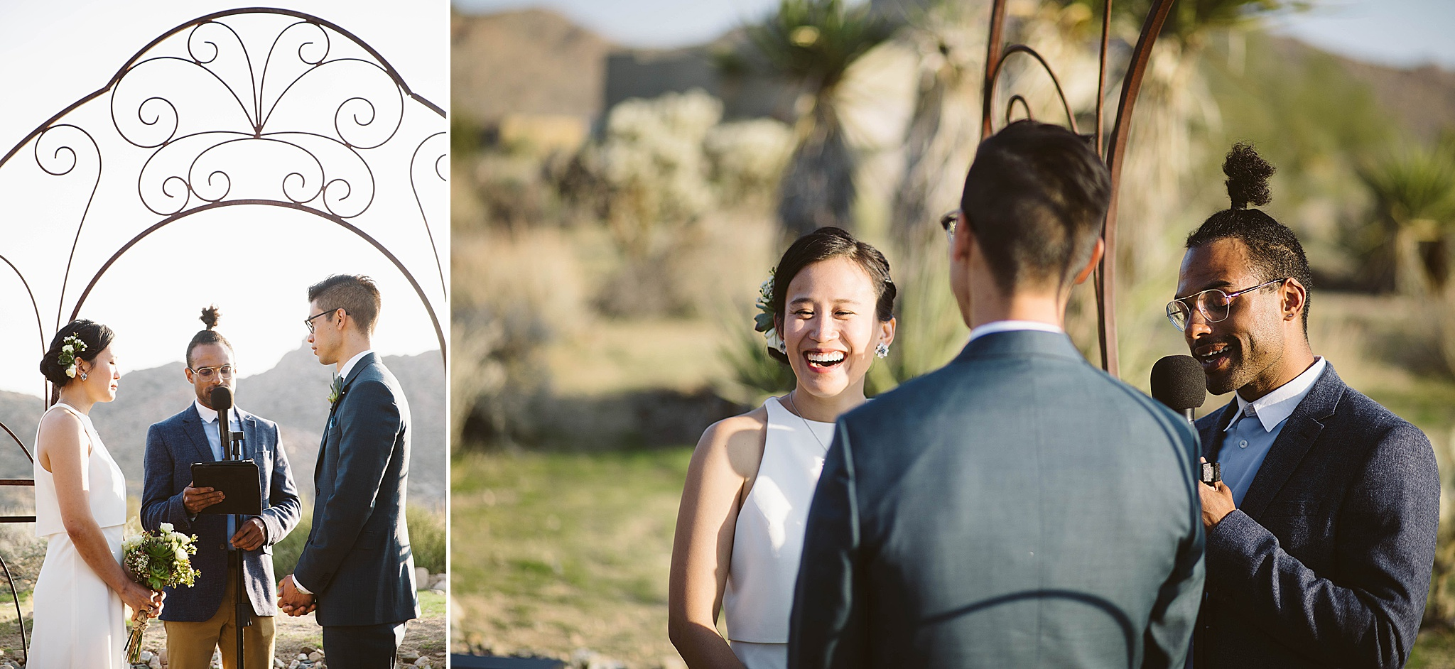 Naitonal Park Wedding ideas in Joshua Tree