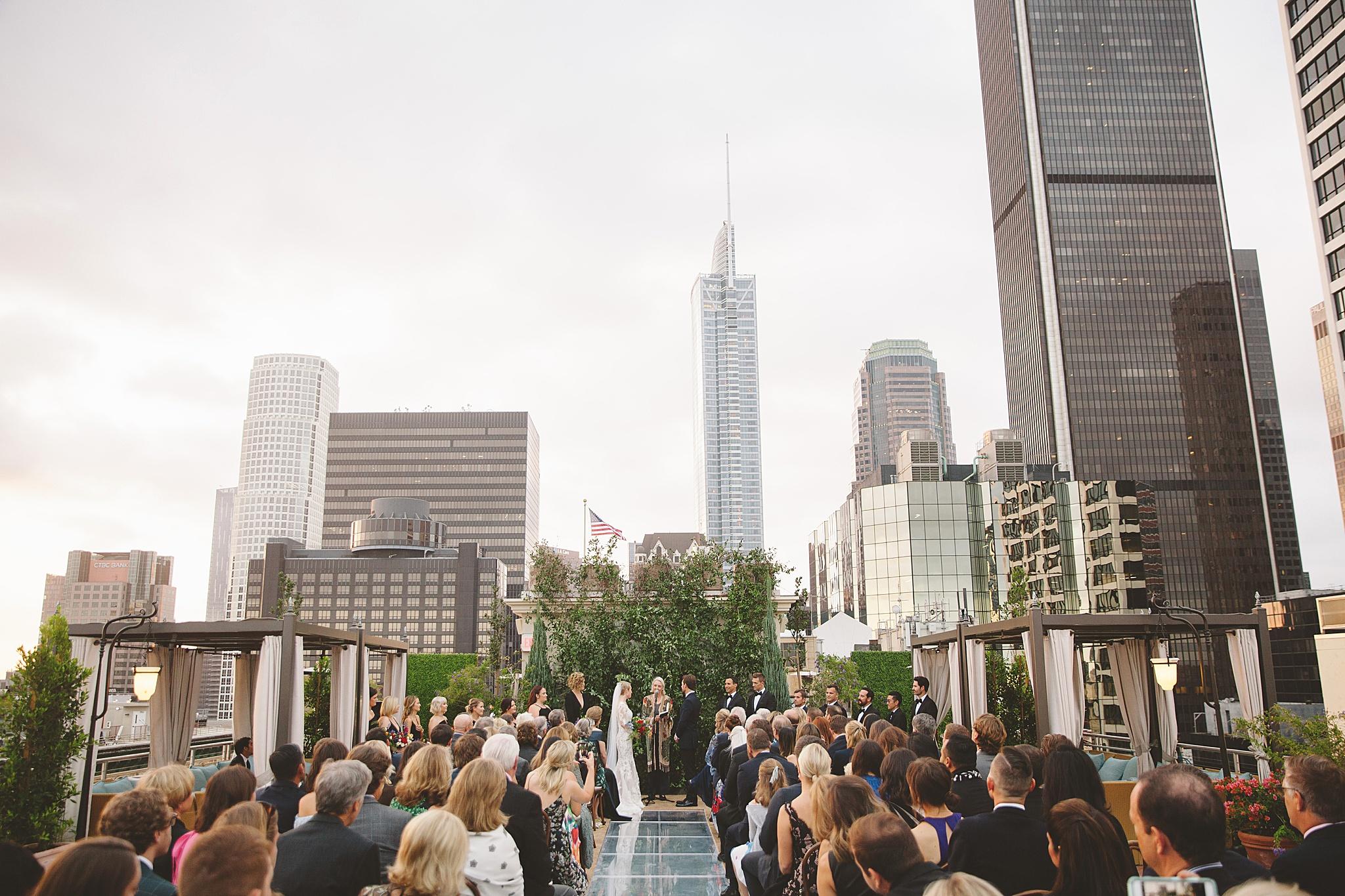 NoMad hotel wedding in DTLA