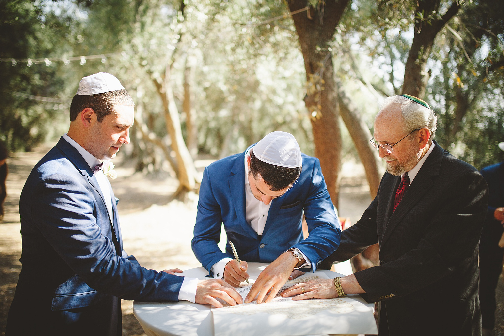 Traditional Jewish wedding in Los Angeles