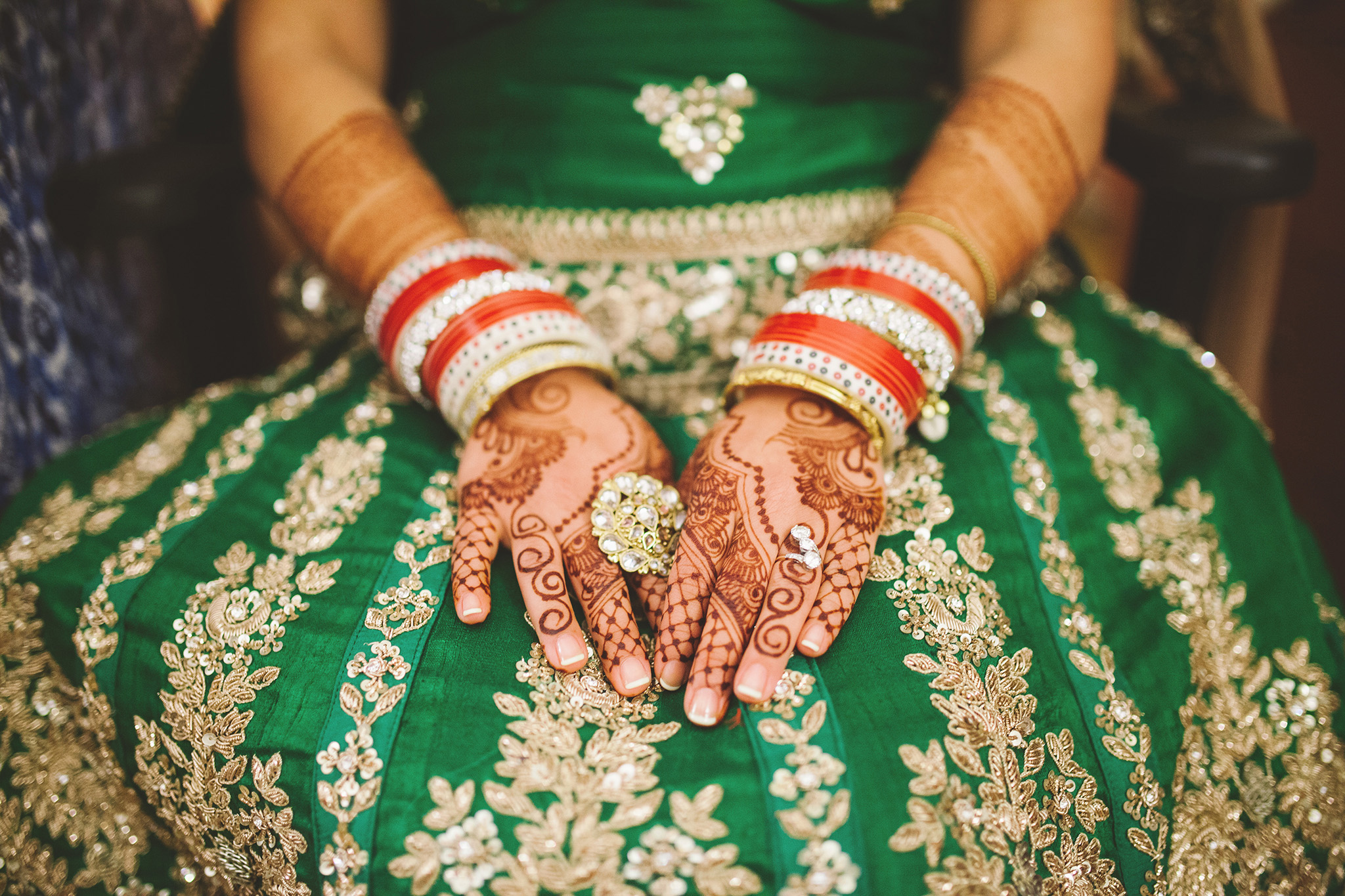 Traditional Sikh Indian wedding pictures in Northern California