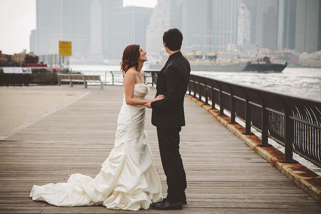 SoHo Bookstore Wedding