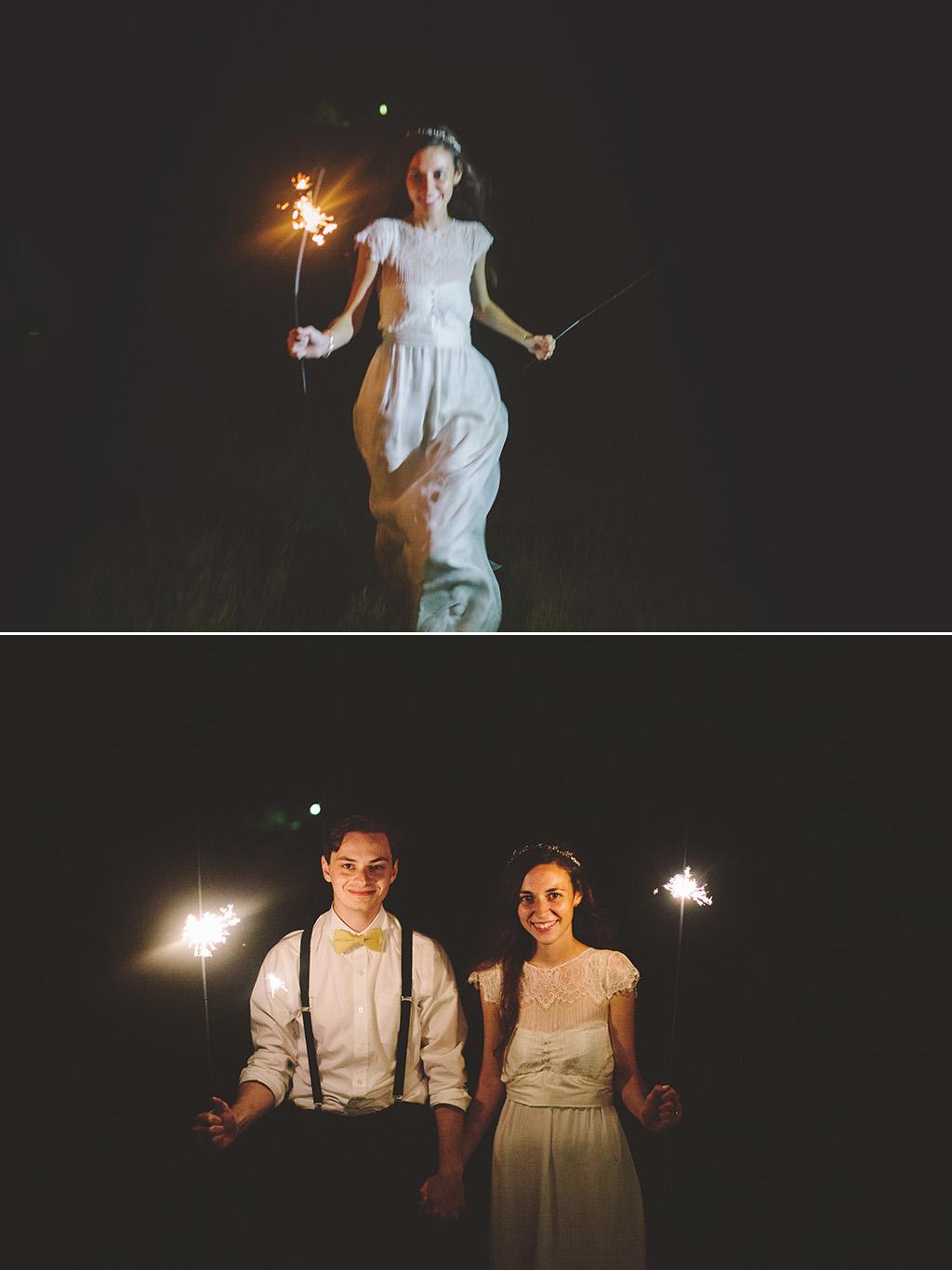 Wedding sparkler ideas