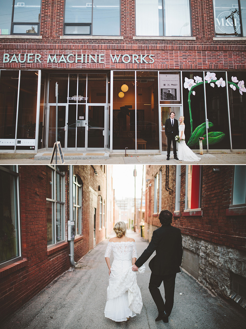 The Bride and the Bauer Wedding