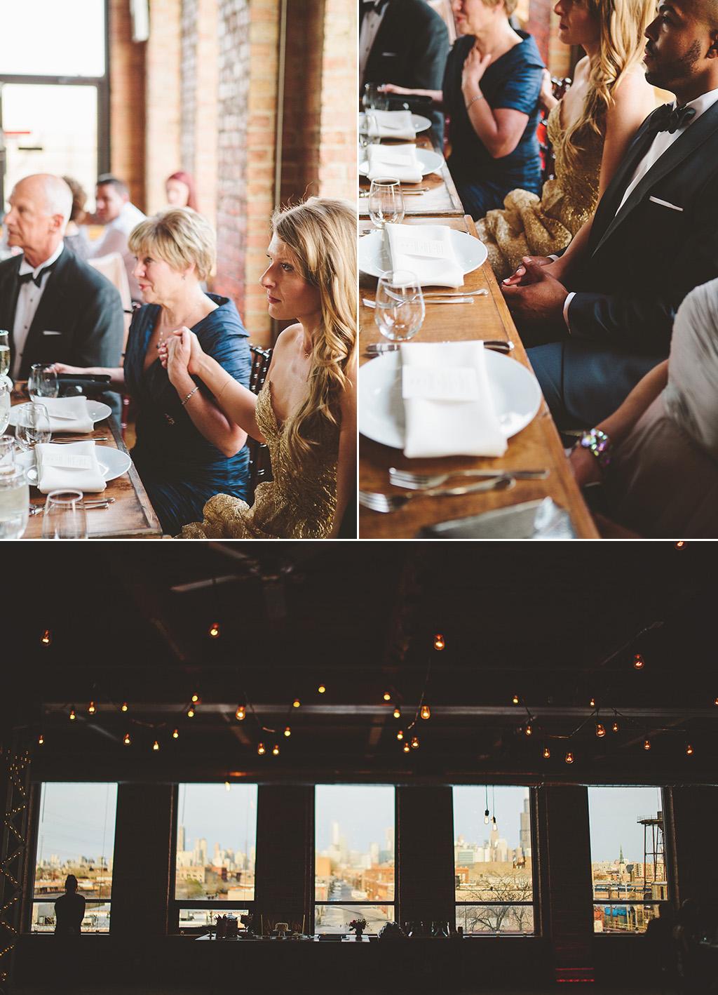 Kitchen Chicago wedding reception space