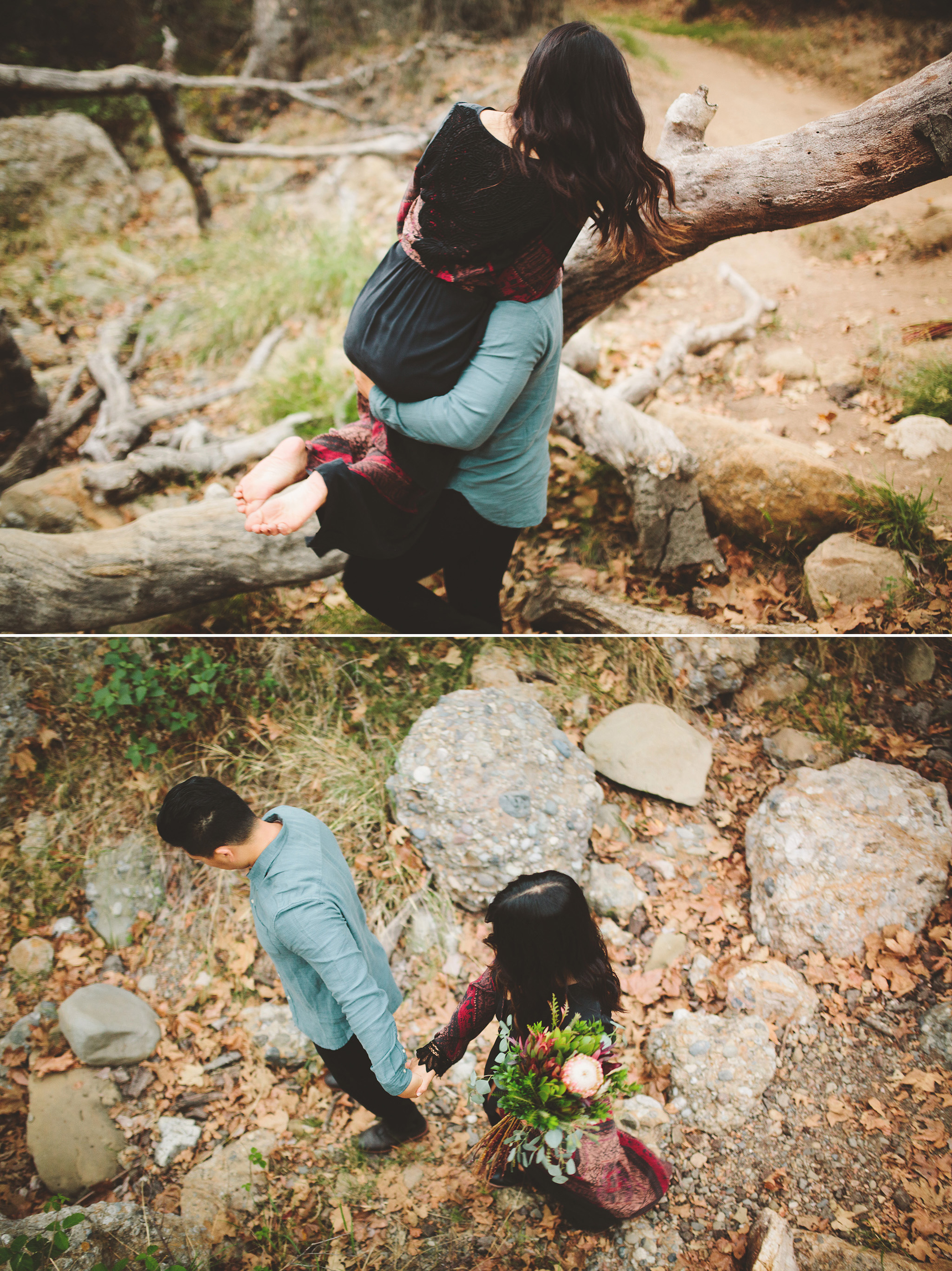 Malibu Engagement pictures