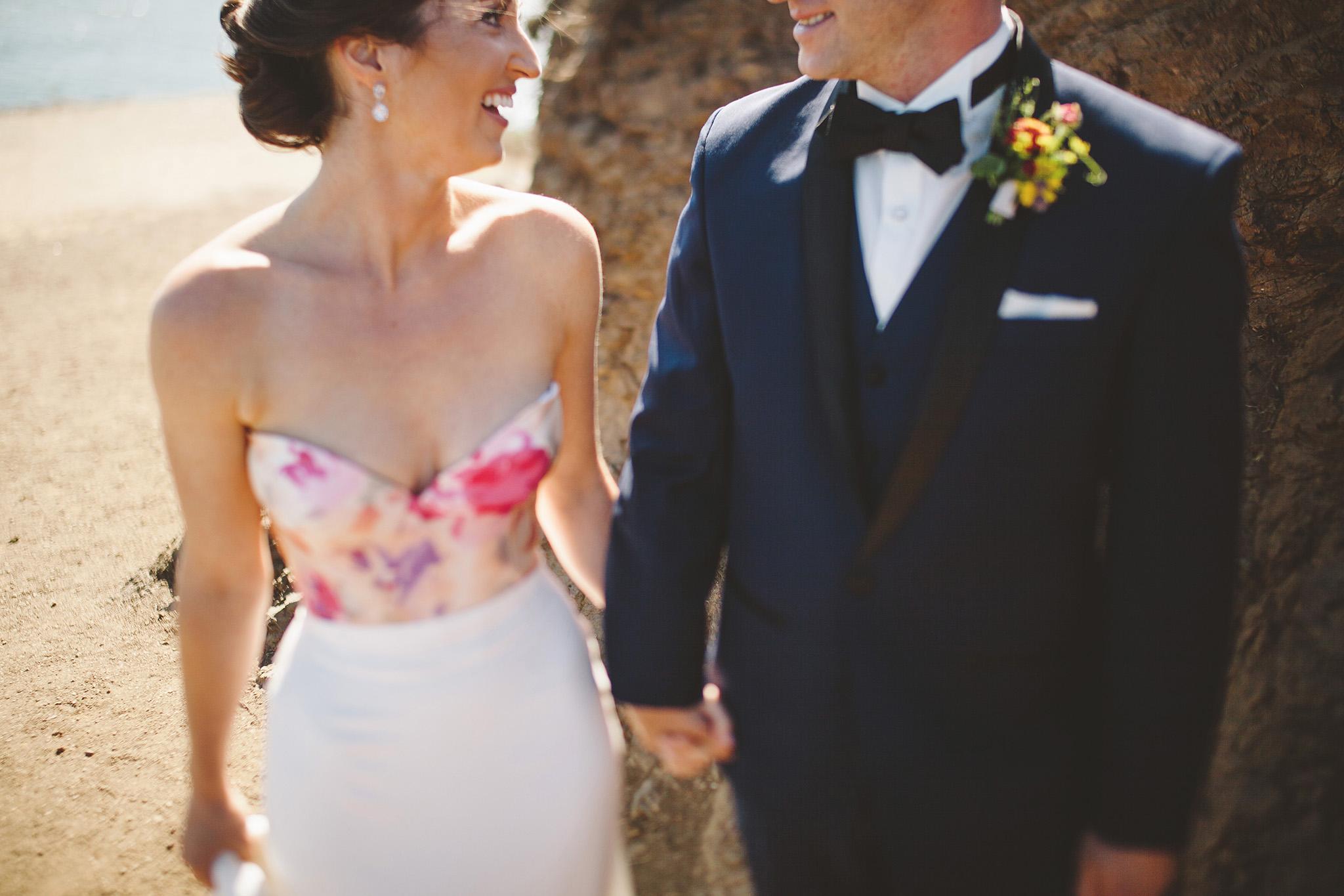 Cavallo Point Wedding pictures at the Golden Gate bridge