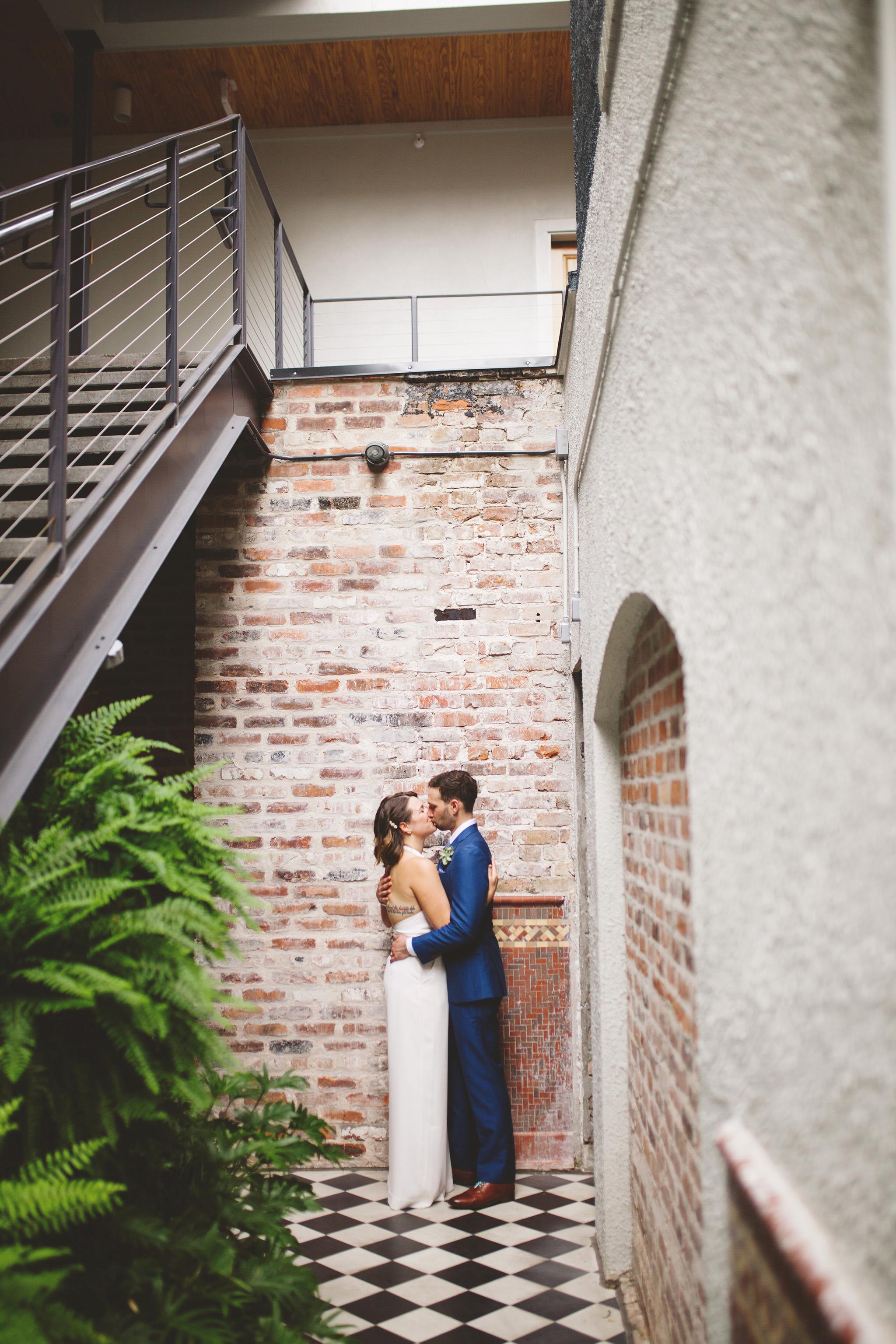 NOLA wedding at Catahoula Hotel