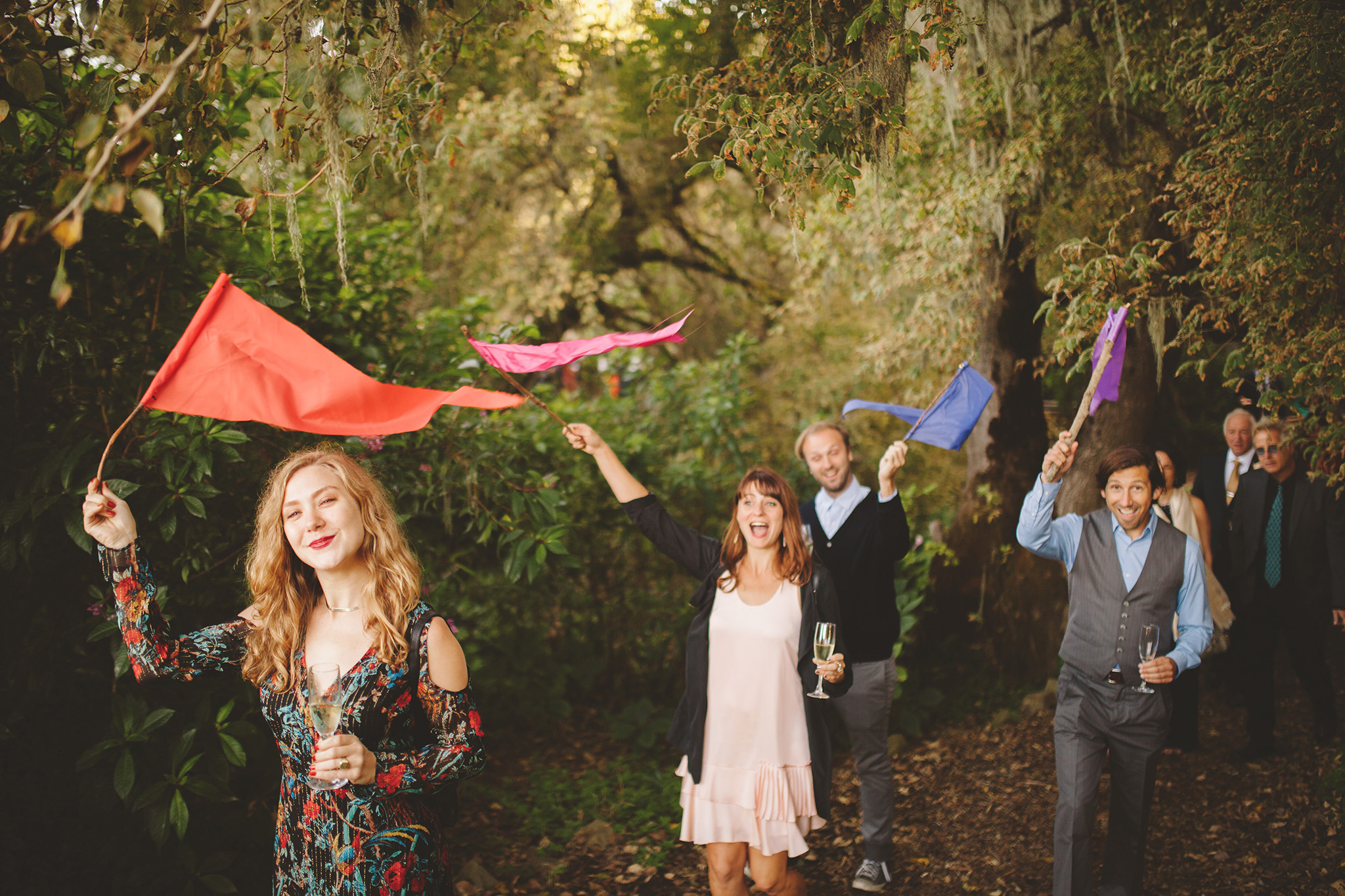 Northern California outdoor wedding ceremony harley farms wedding in pescadero