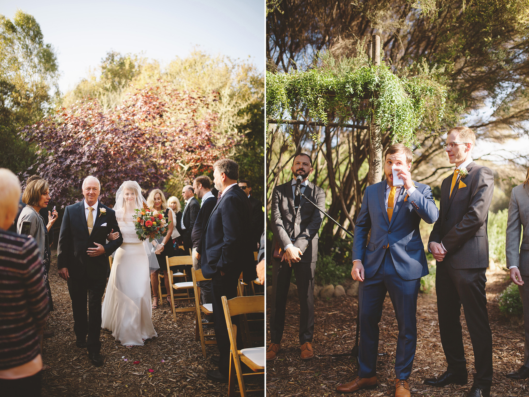 Pescadero California wedding at Harley goat farm