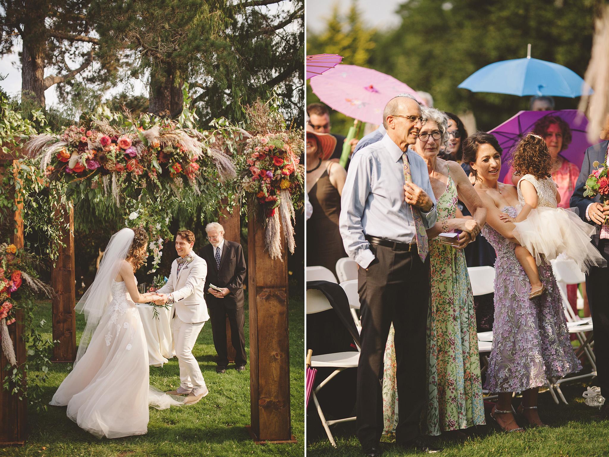 Kohl Mansion Wedding in San Francisco Outdoor wedding venue