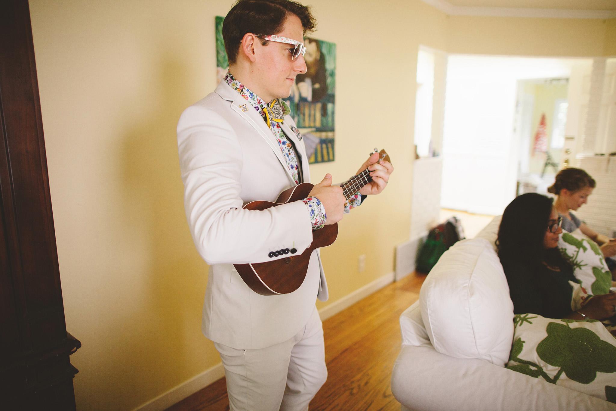 A modern wedding in San Francisco