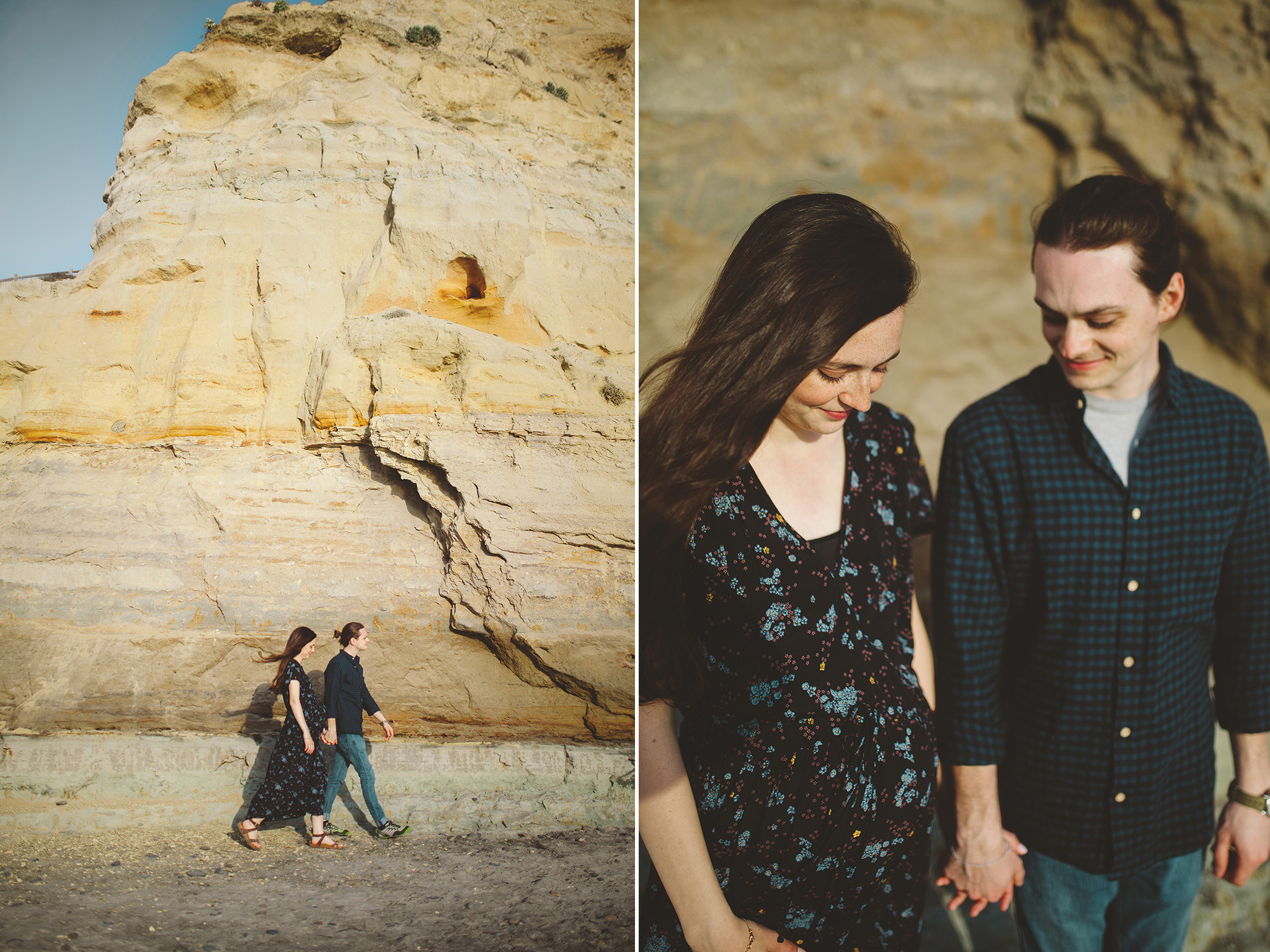 Adventure maternity lifestyle pictures in San Diego