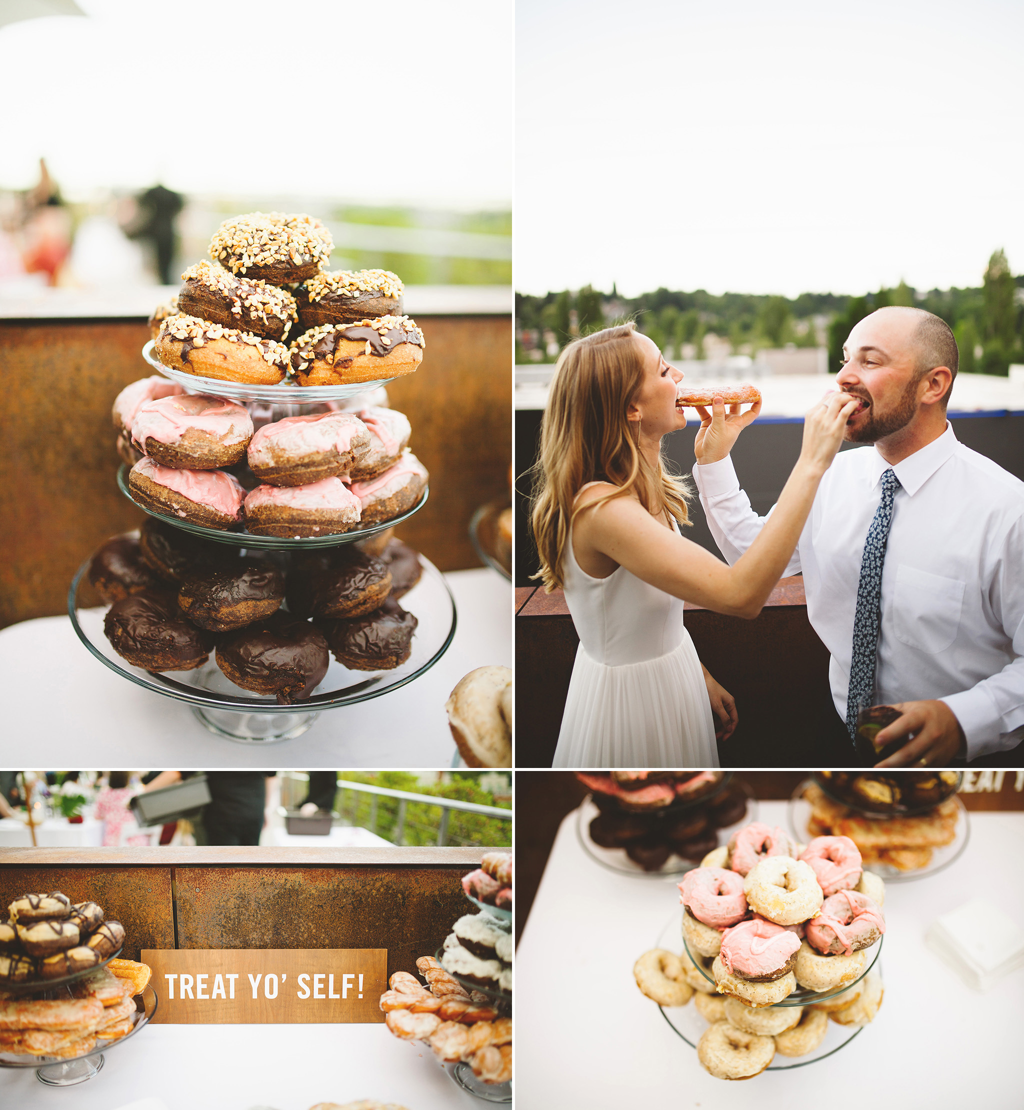 doughnuts instead of wedding cake