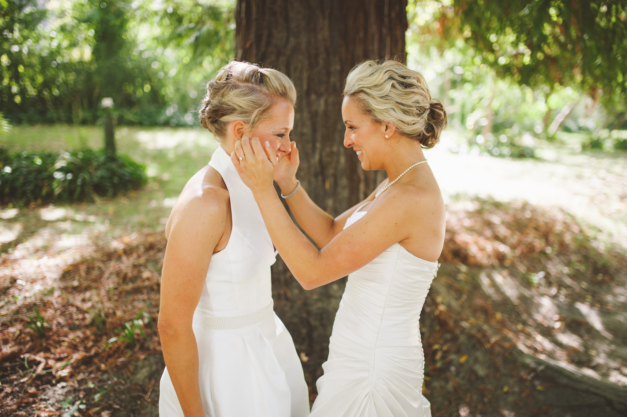 First look in the redwoods. California Redwood Wedding Venue Dawn Ranch Guerneville wedding pictures