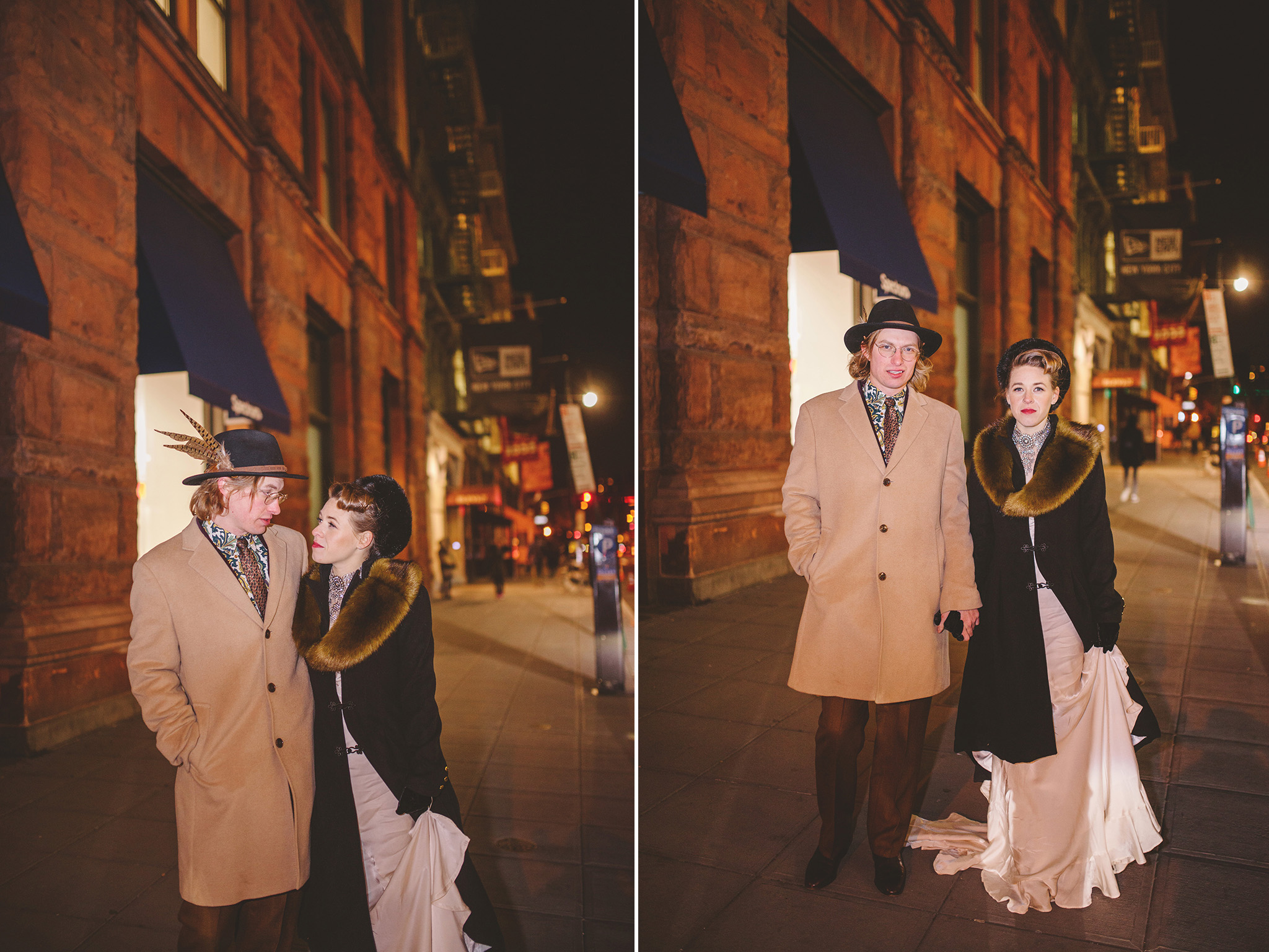 1920's inspired Intimate Manhattan Wedding at Lafayette Grand Bakery