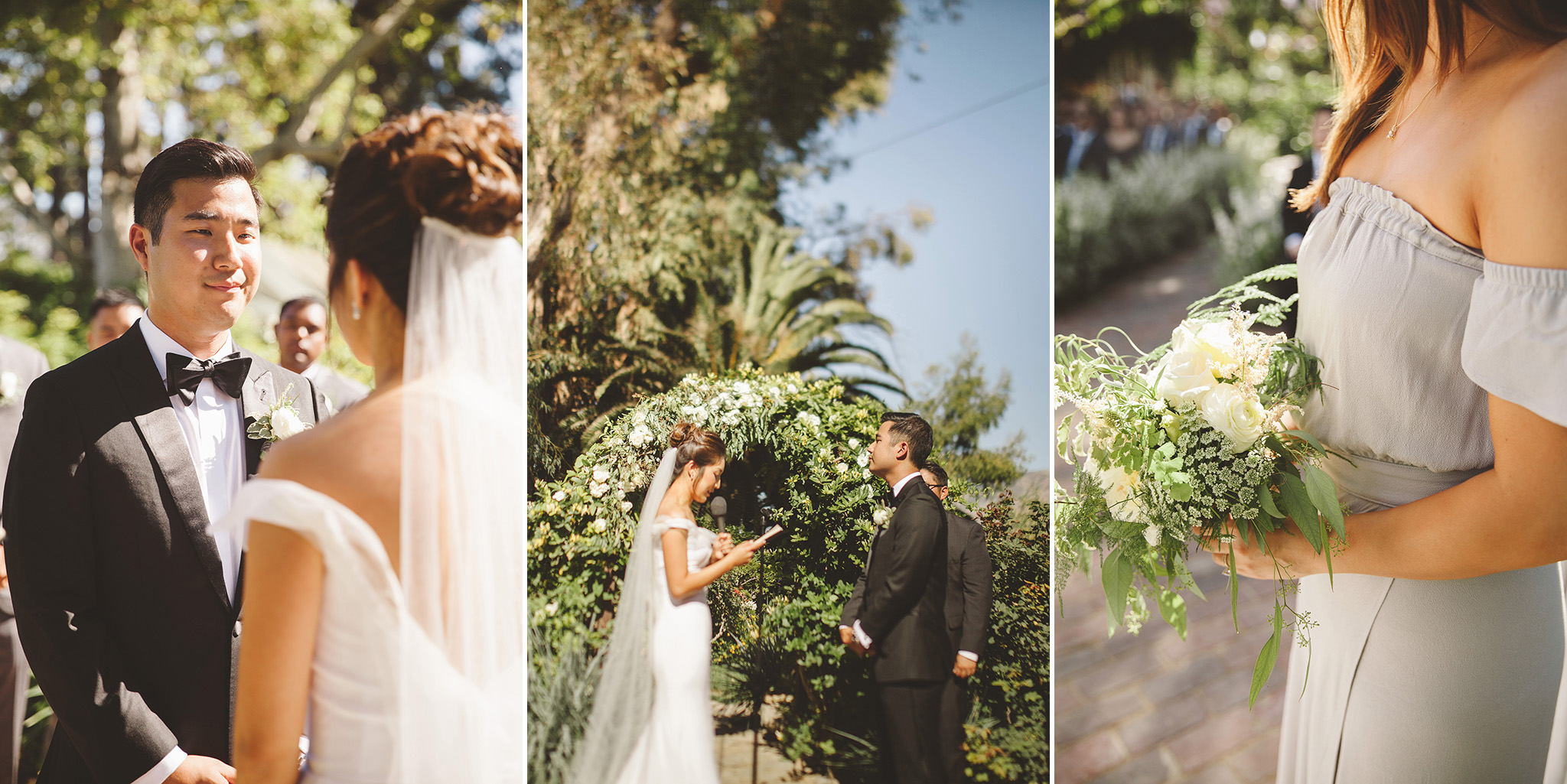 Los Angeles Outdoor wedding Venue. Garden wedding at McCormick Ranch