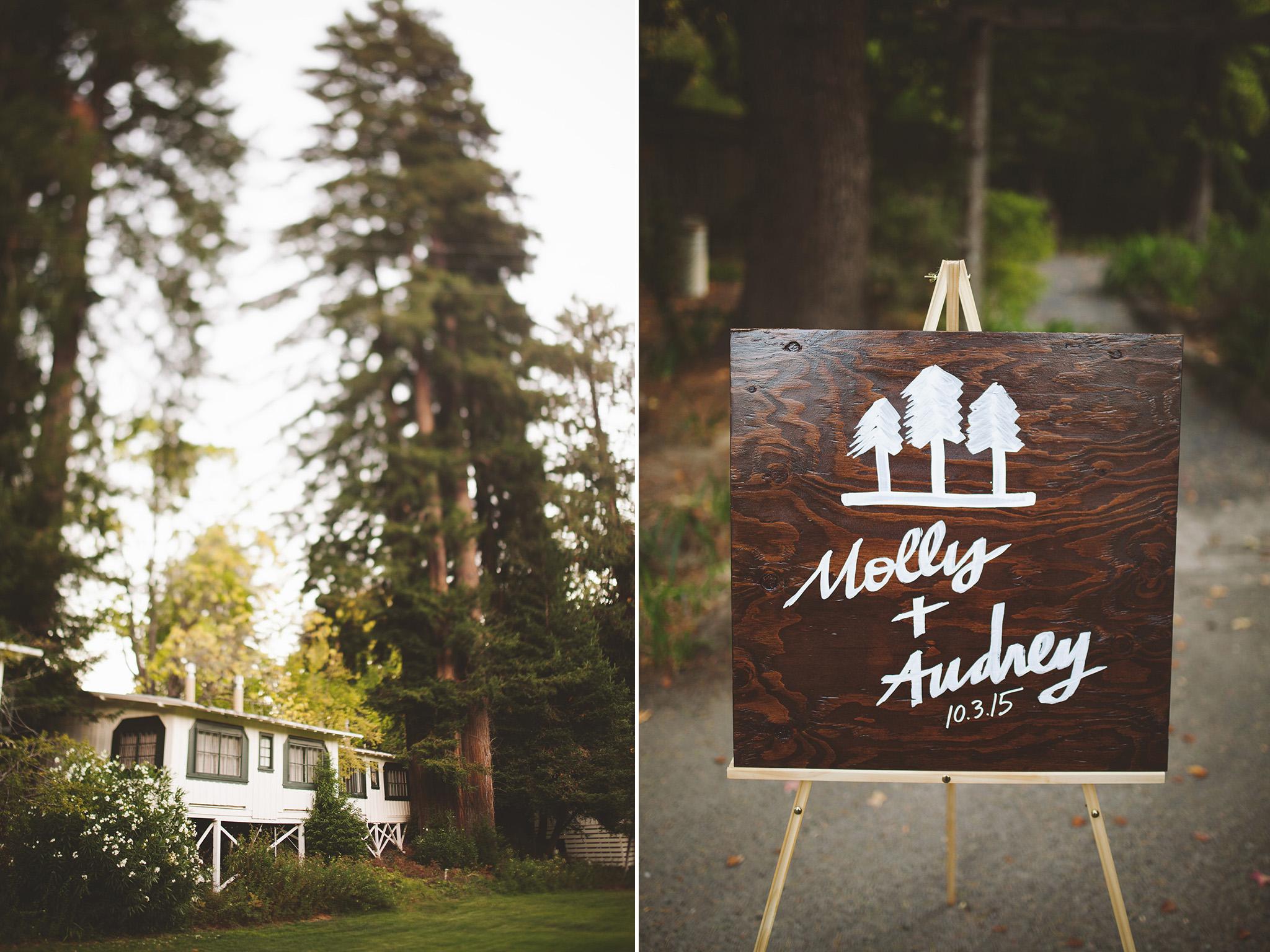 California Redwood Wedding Venue Dawn Ranch Guerneville wedding pictures
