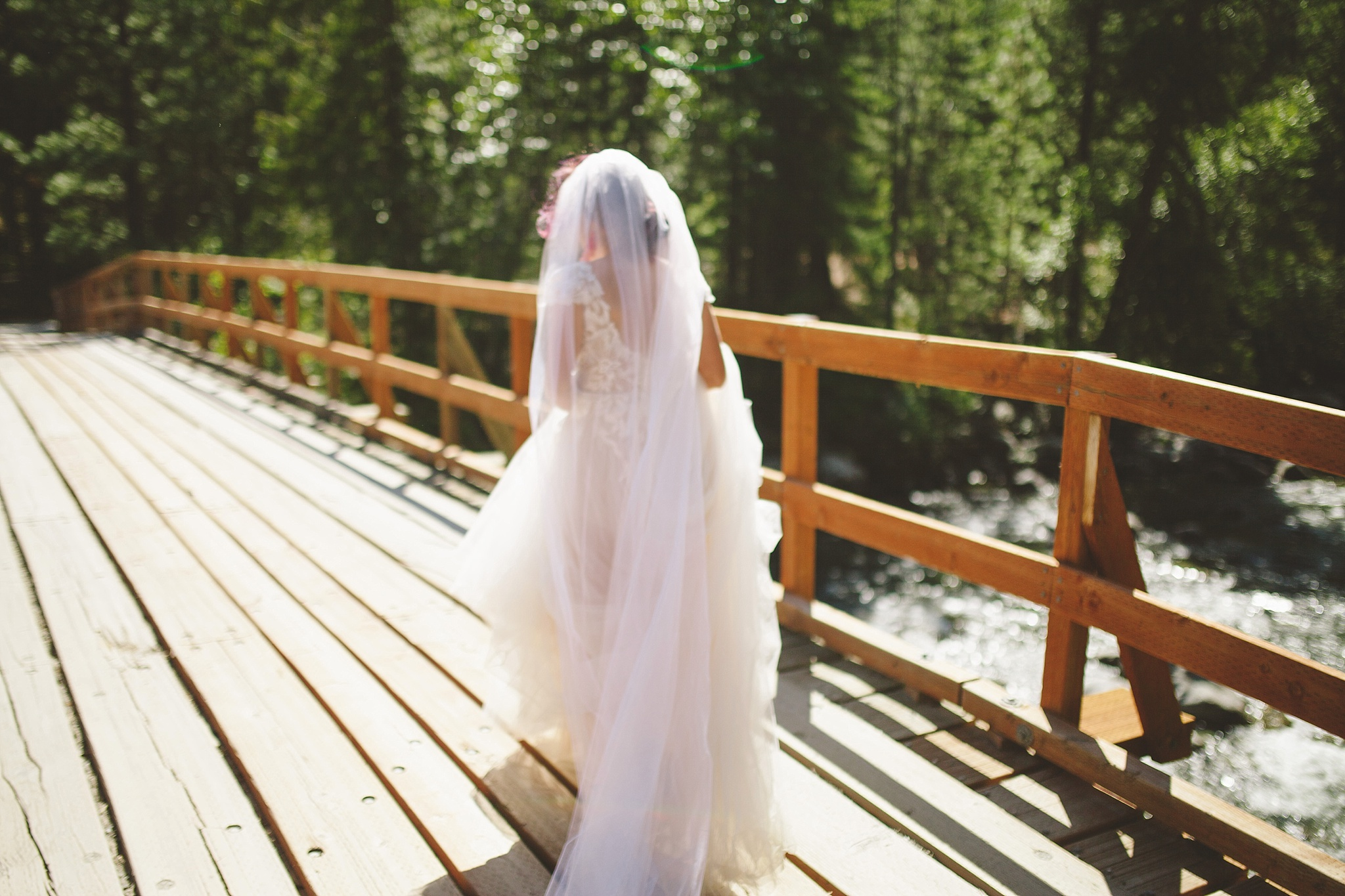 wedding at national park washington