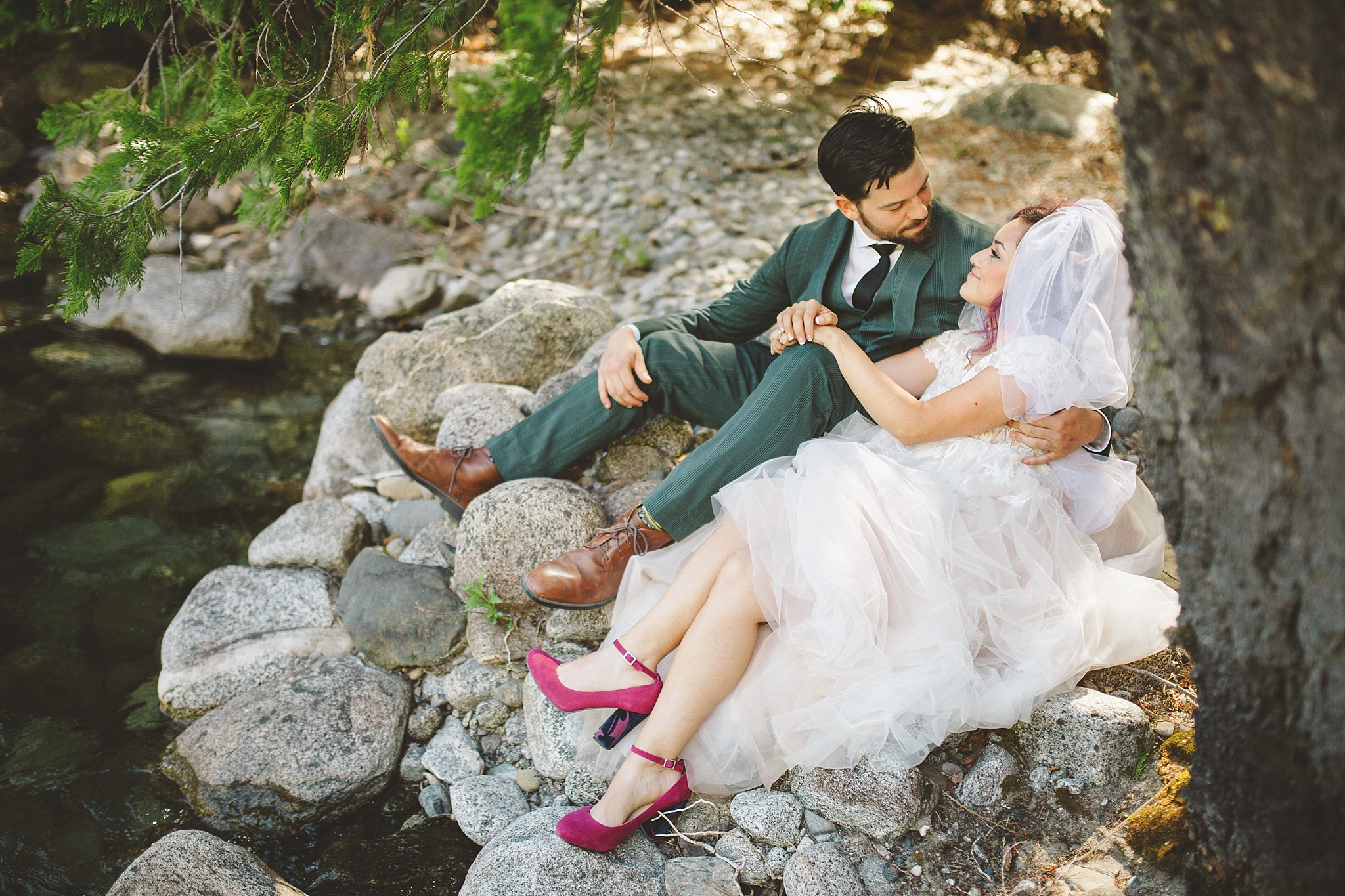 adventure wedding in pnw