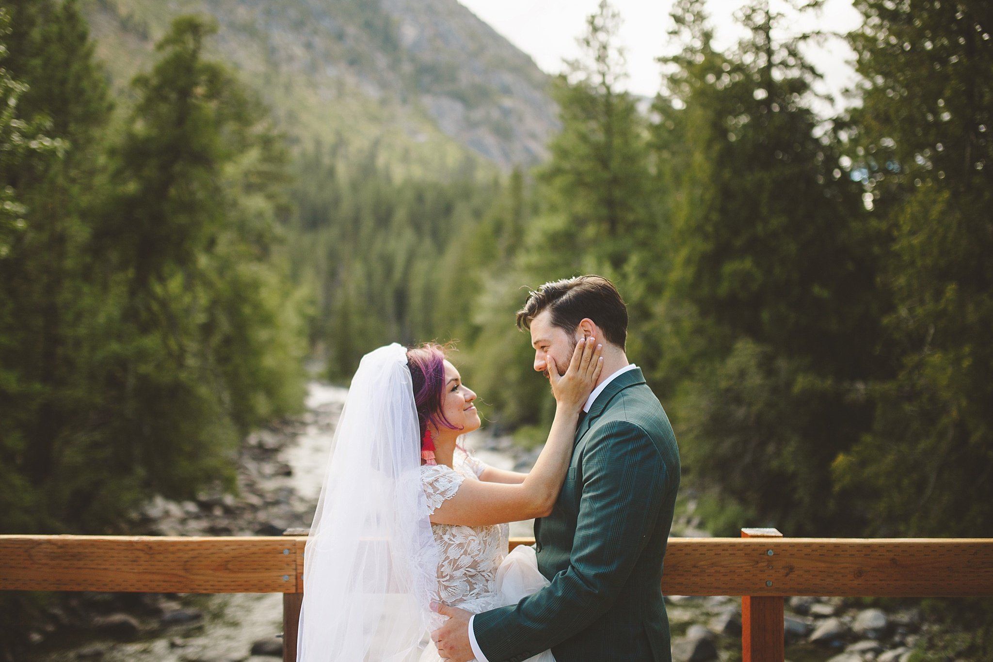 PNW wedding pictures outdoors