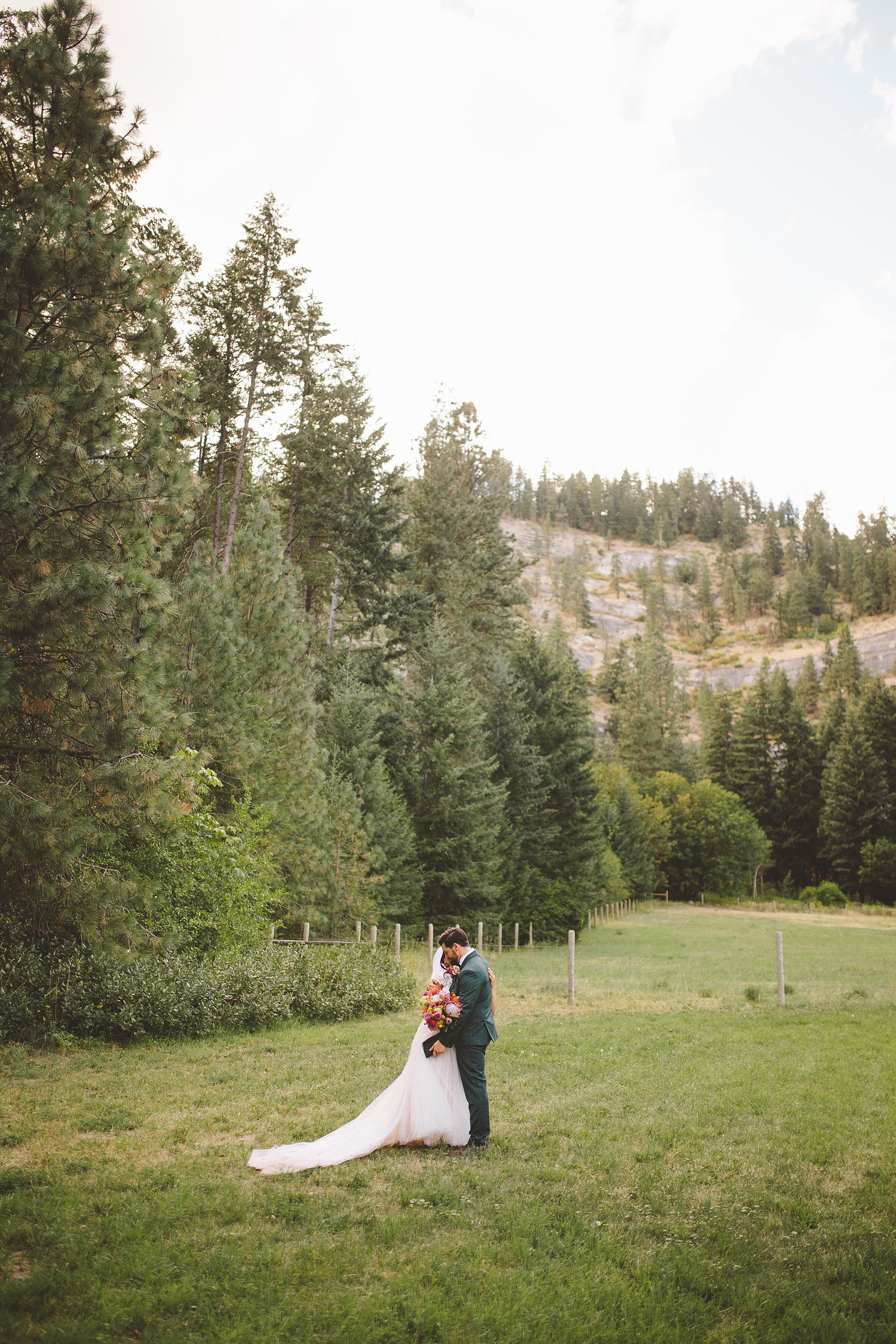 married in the woods of washington