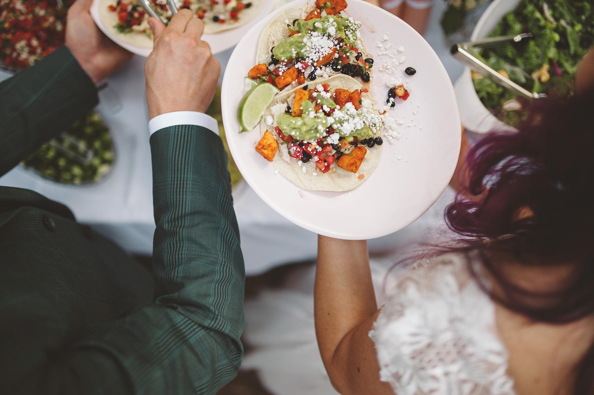 fiesta wedding in the woods