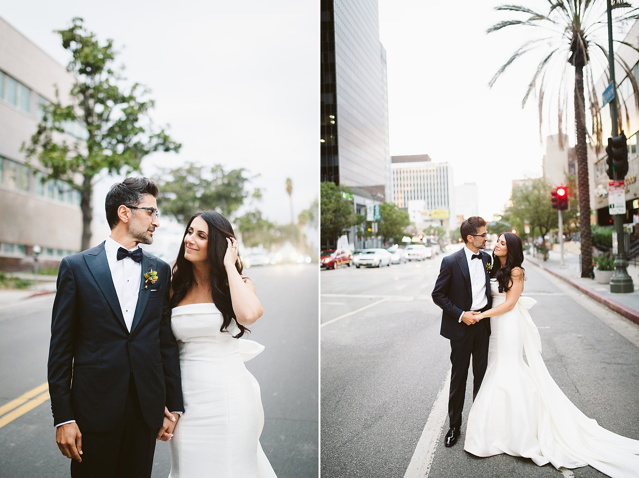 Wedding at the LINE hotel LA