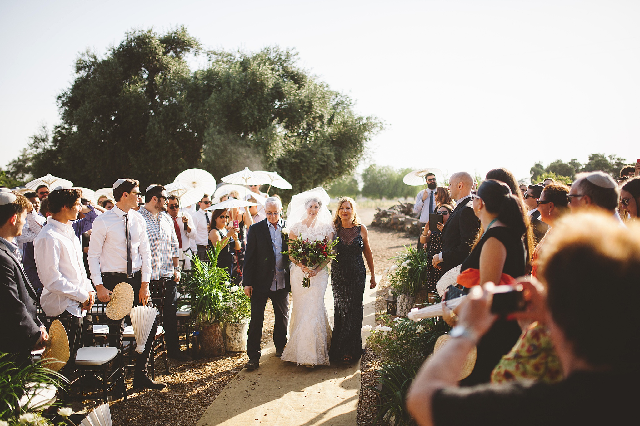 Jewish wedding photographer in Los Angeles