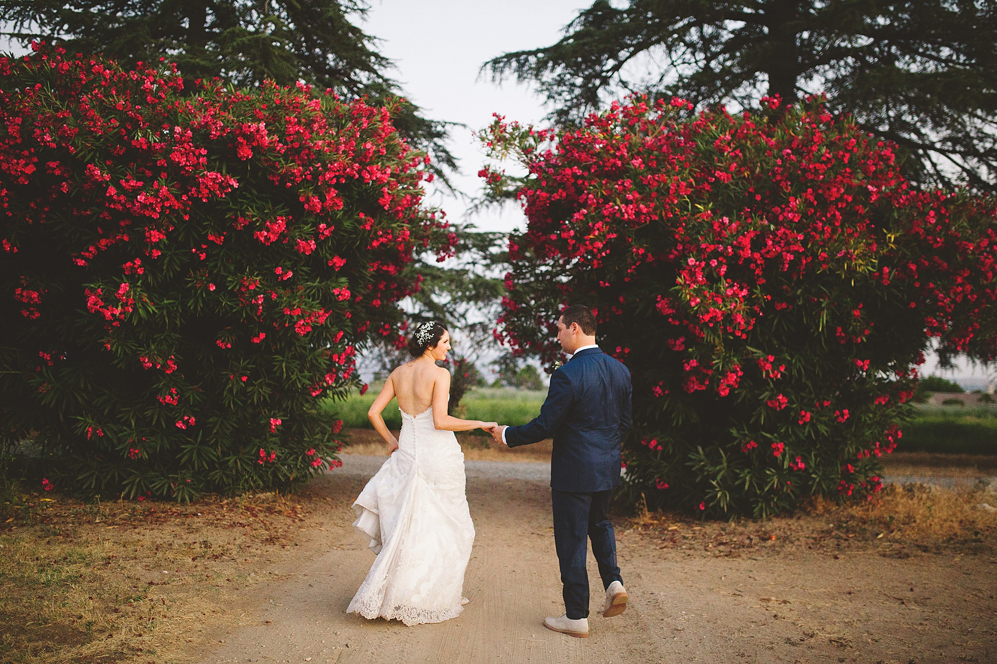 wedding pictures at highland springs in Los angeles