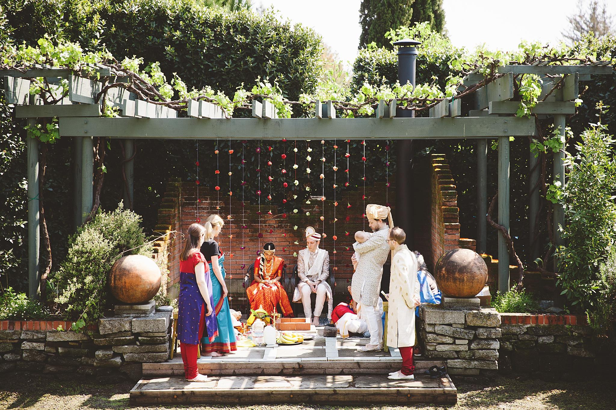 traditional hindu wedding cereomony in Los Angeles